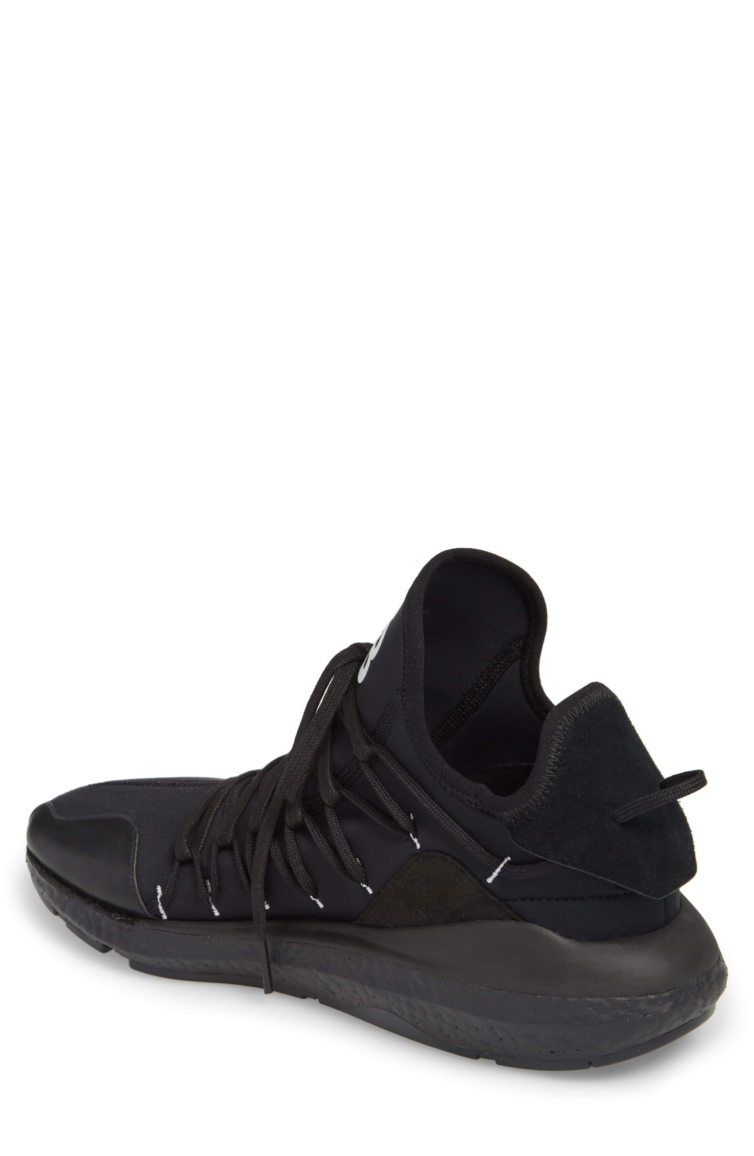 x adidas Kusari Sneaker,                             Alternate thumbnail 2, color,                             BLACK/BLACK