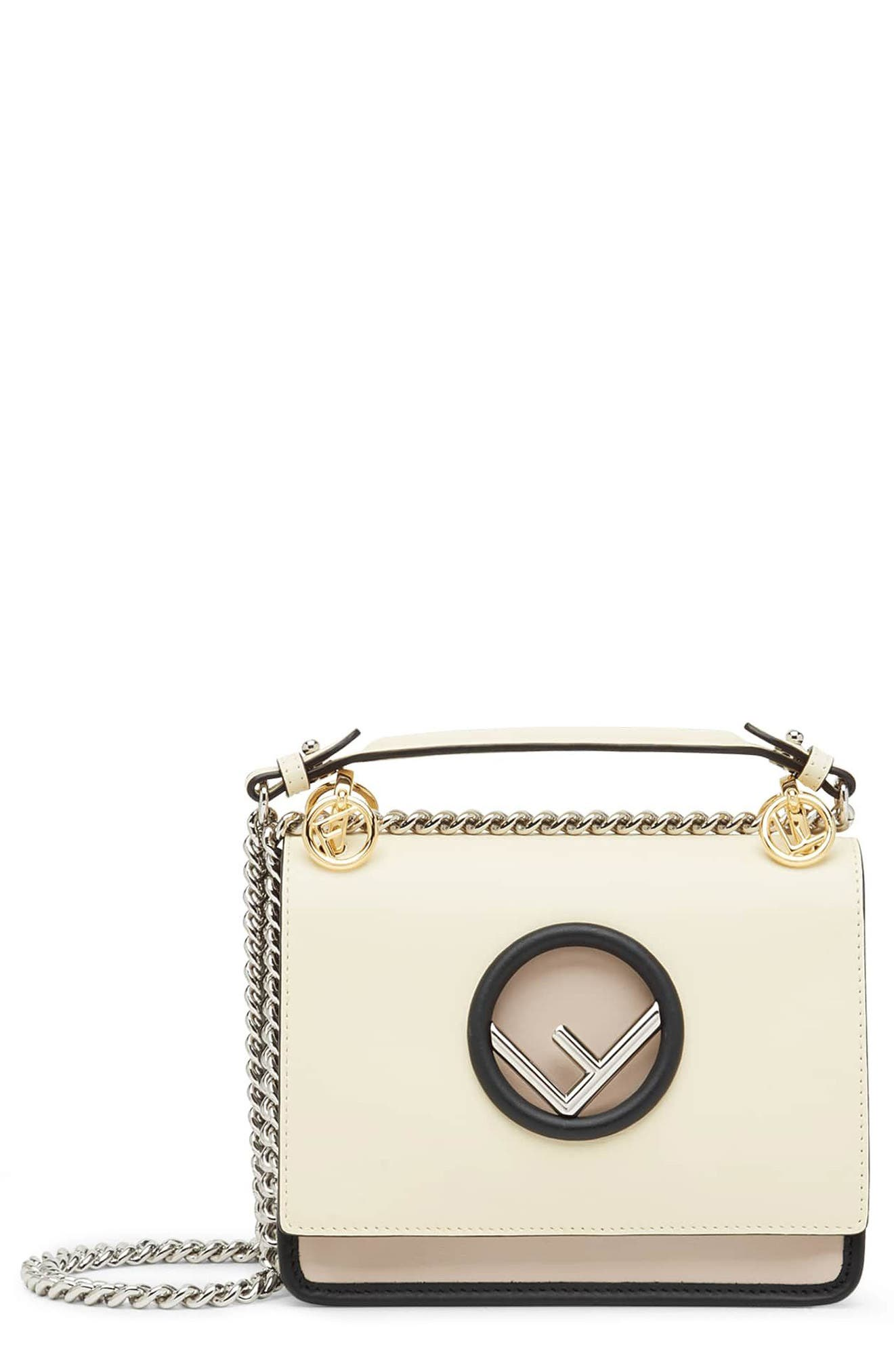Mini Kan I Colorblock Leather Shoulder Bag,                         Main,                         color, 650