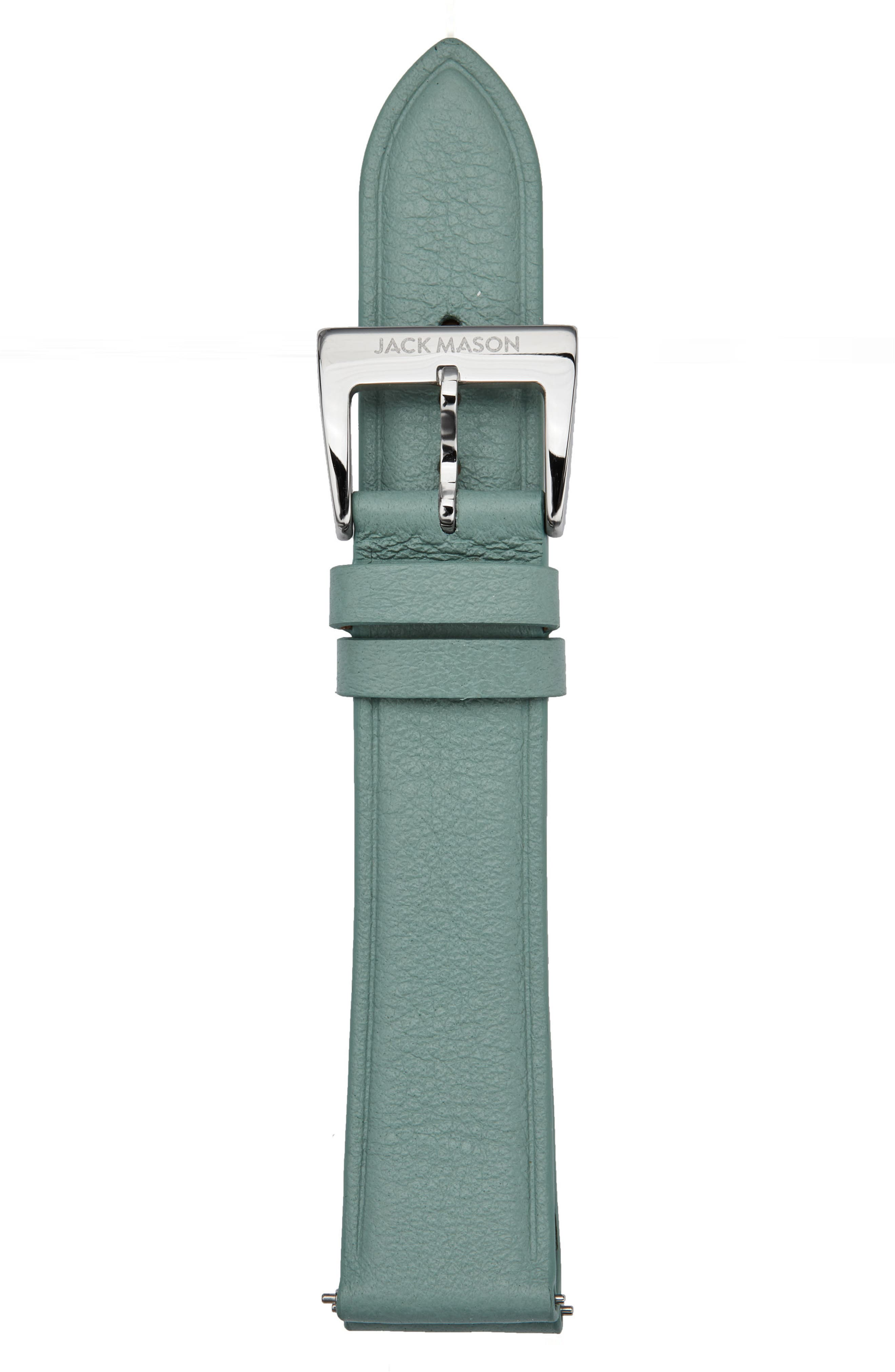 Leather Watch Strap, 18mm,                             Main thumbnail 1, color,