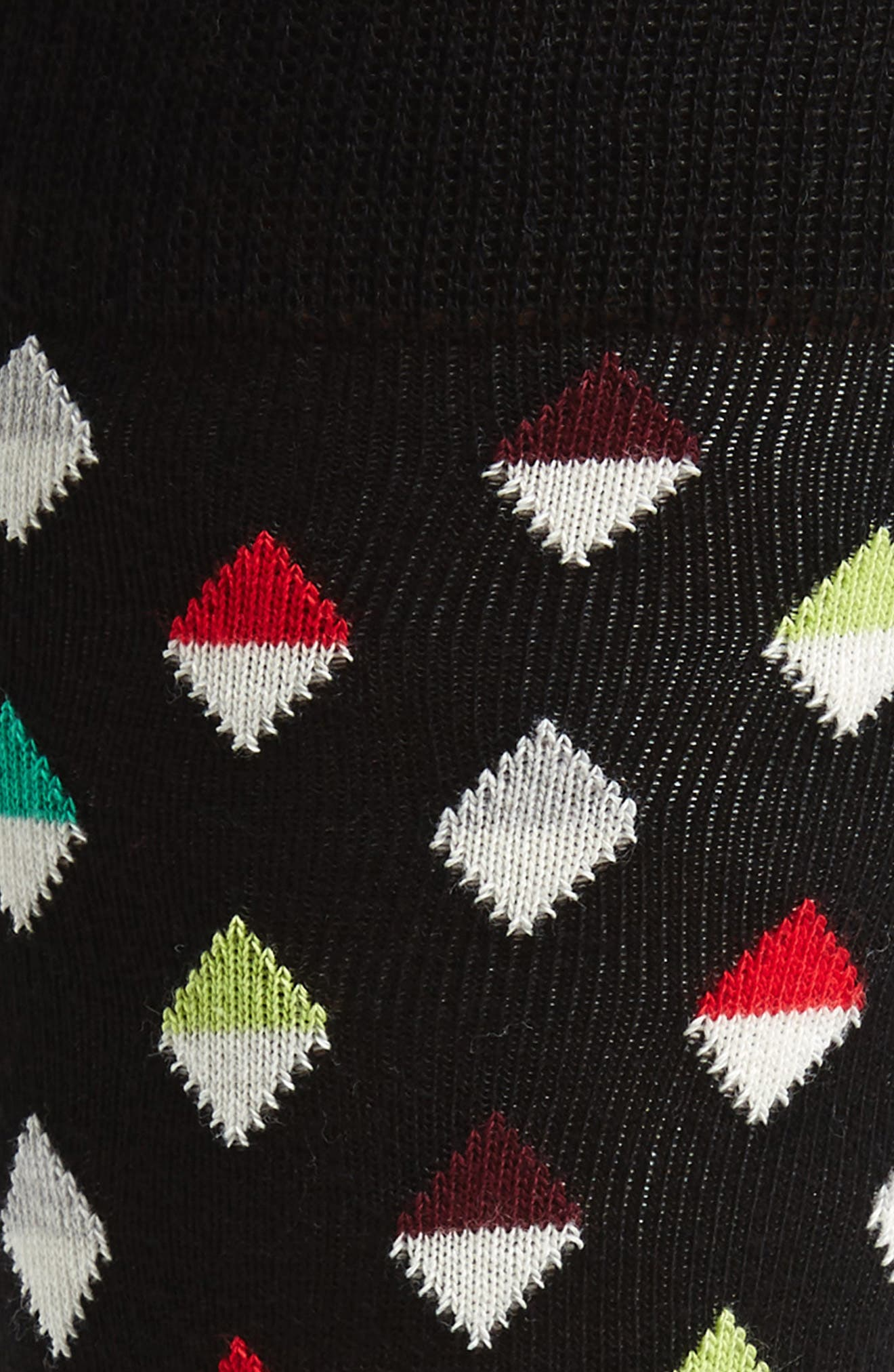 Diamond Socks,                             Alternate thumbnail 2, color,                             001