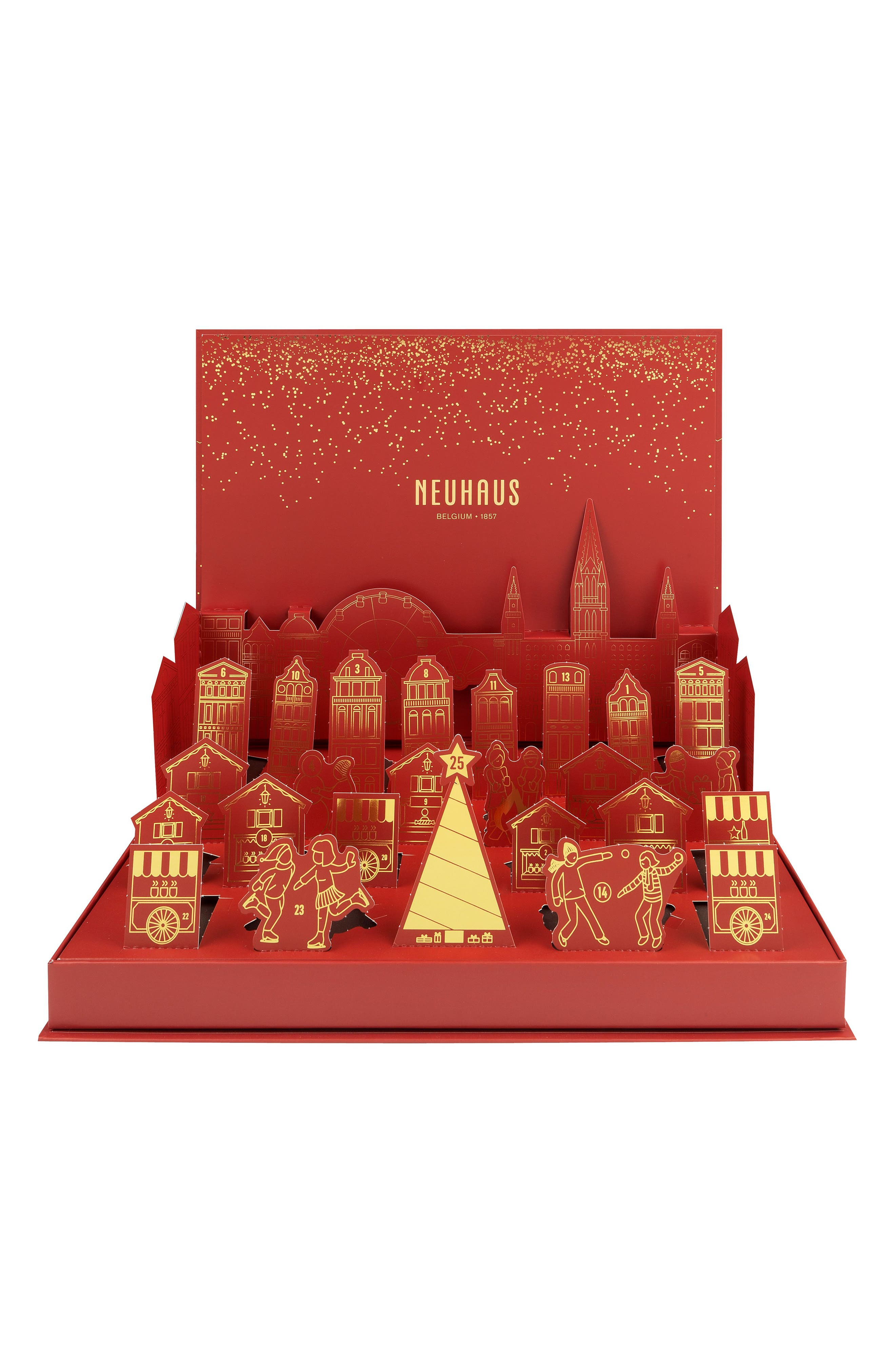 Winter Wonderland Pop-Up Chocolate Advent Calendar,                         Main,                         color, 600