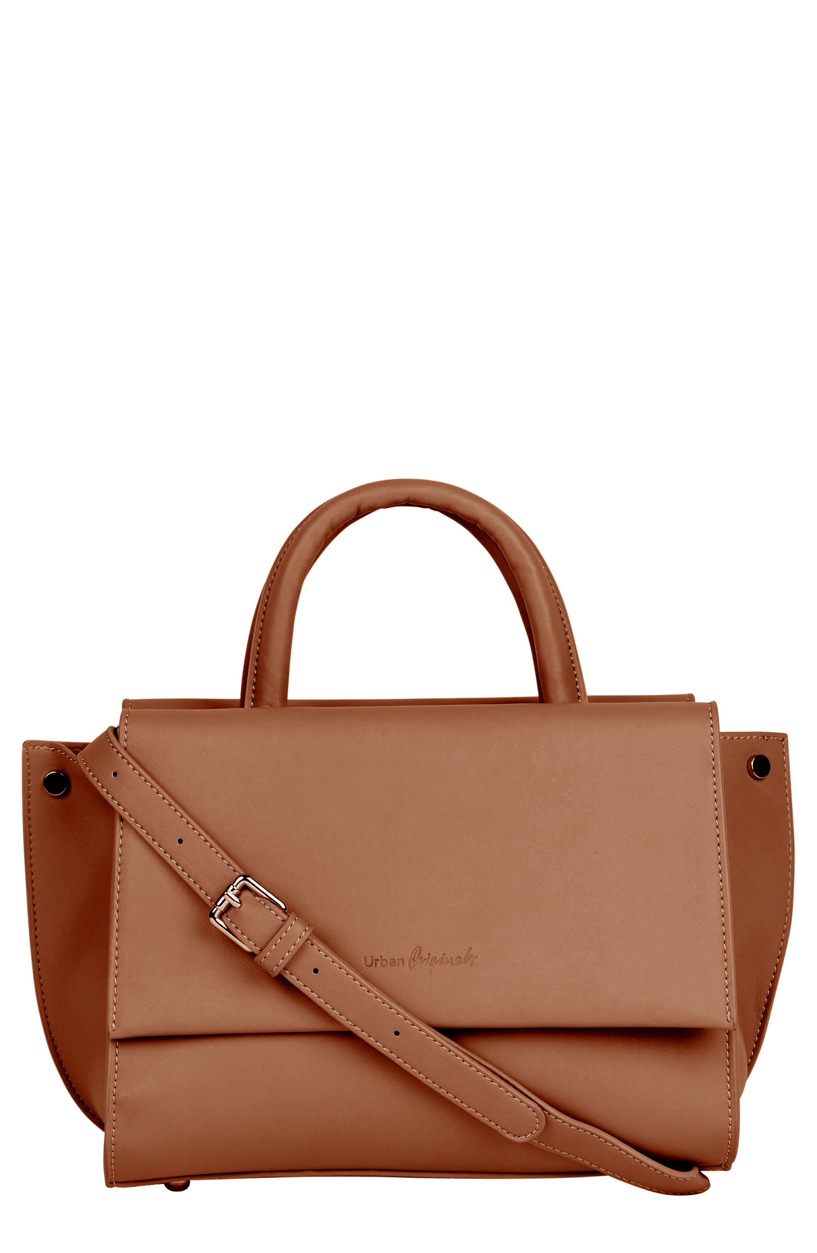 Ethereal Vegan Leather Tote,                         Main,                         color, TAN