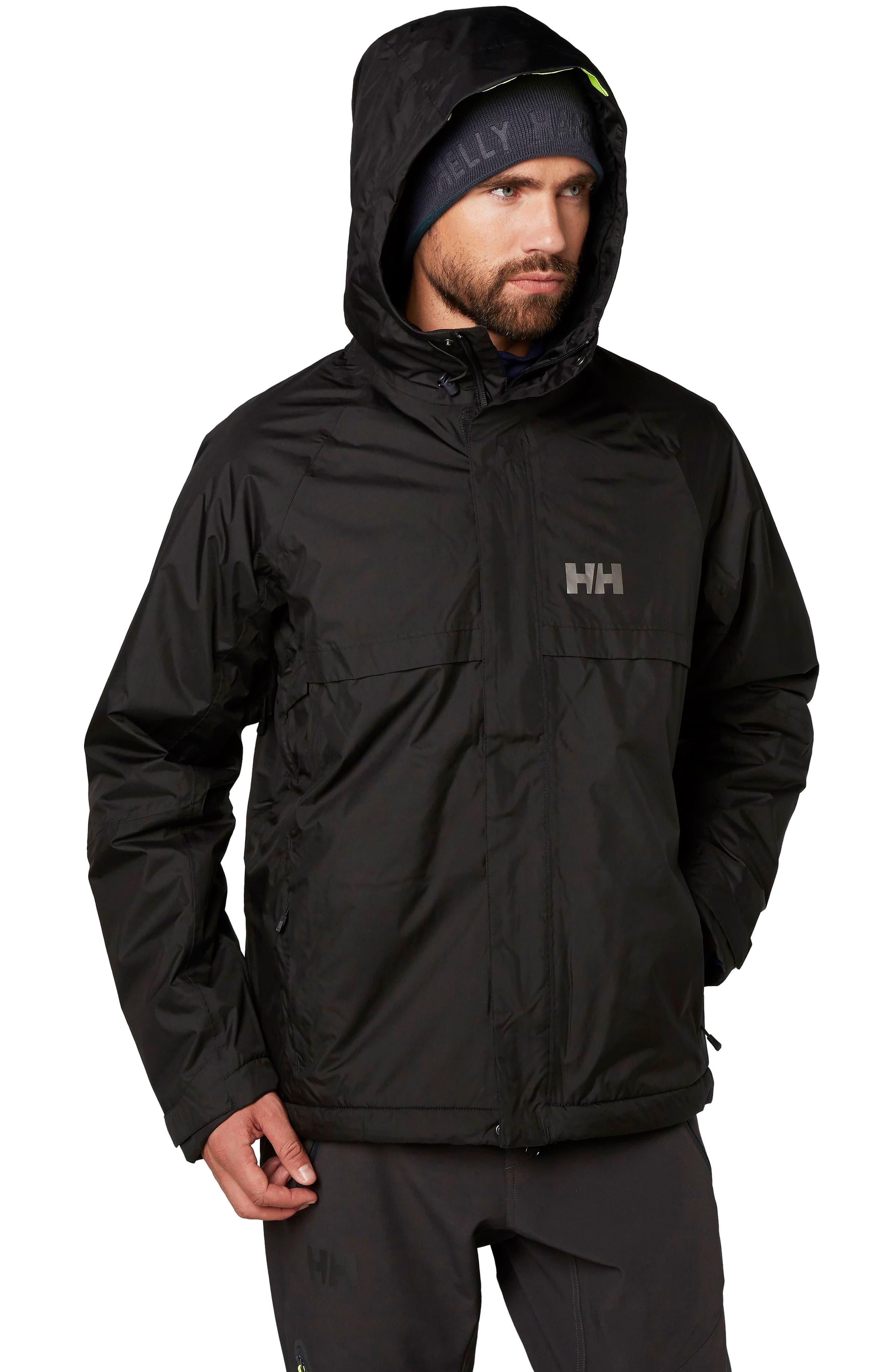 Loke Hair Waterproof Jacket,                             Main thumbnail 1, color,                             001