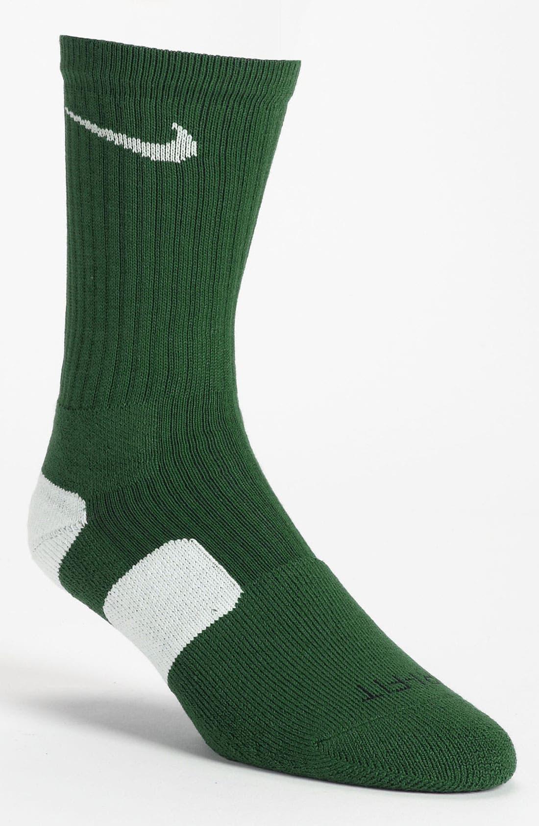 'Elite Basketball' Crew Socks,                             Main thumbnail 23, color,