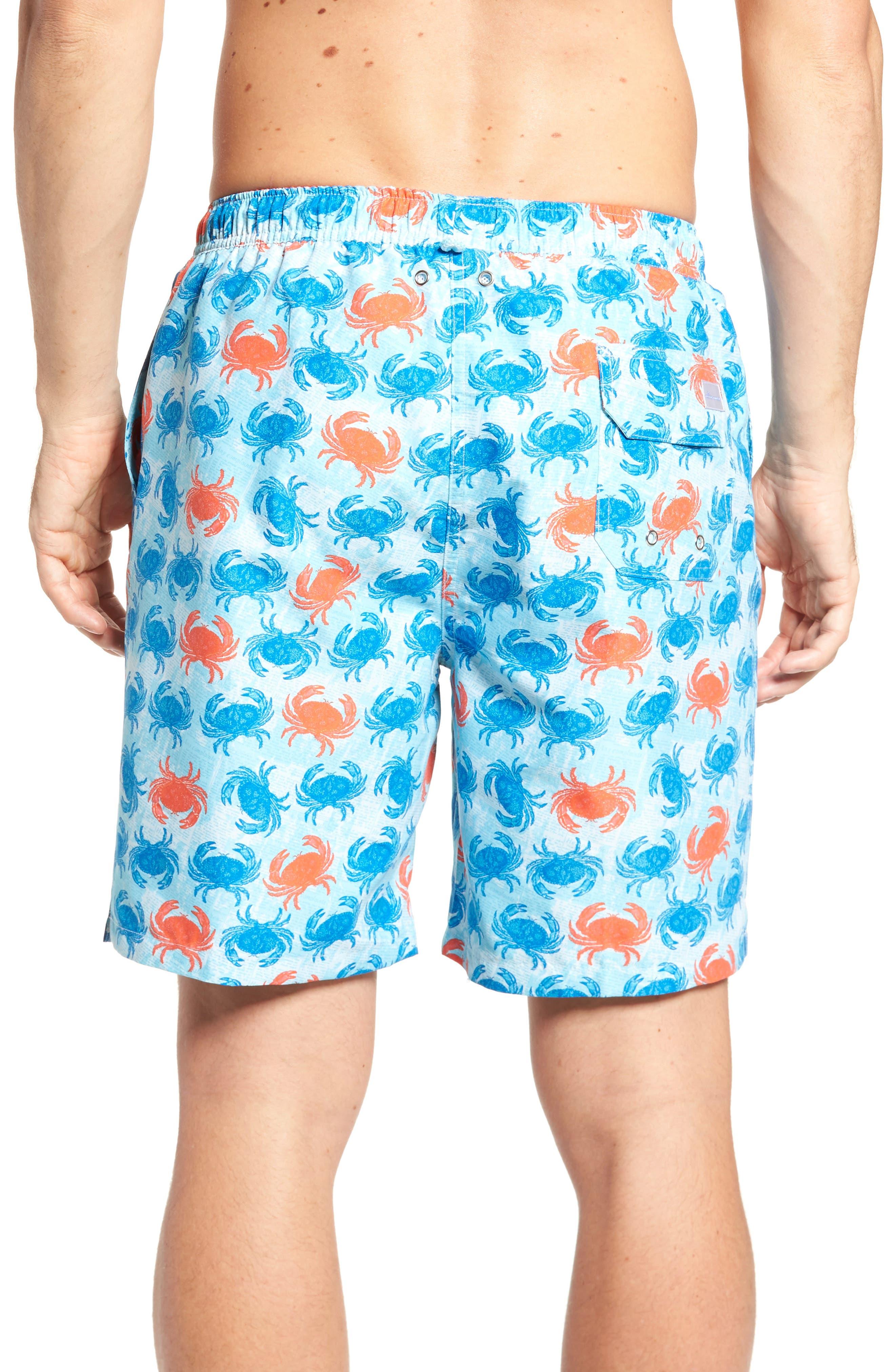 Crab Shack Swim Shorts,                             Alternate thumbnail 2, color,                             424