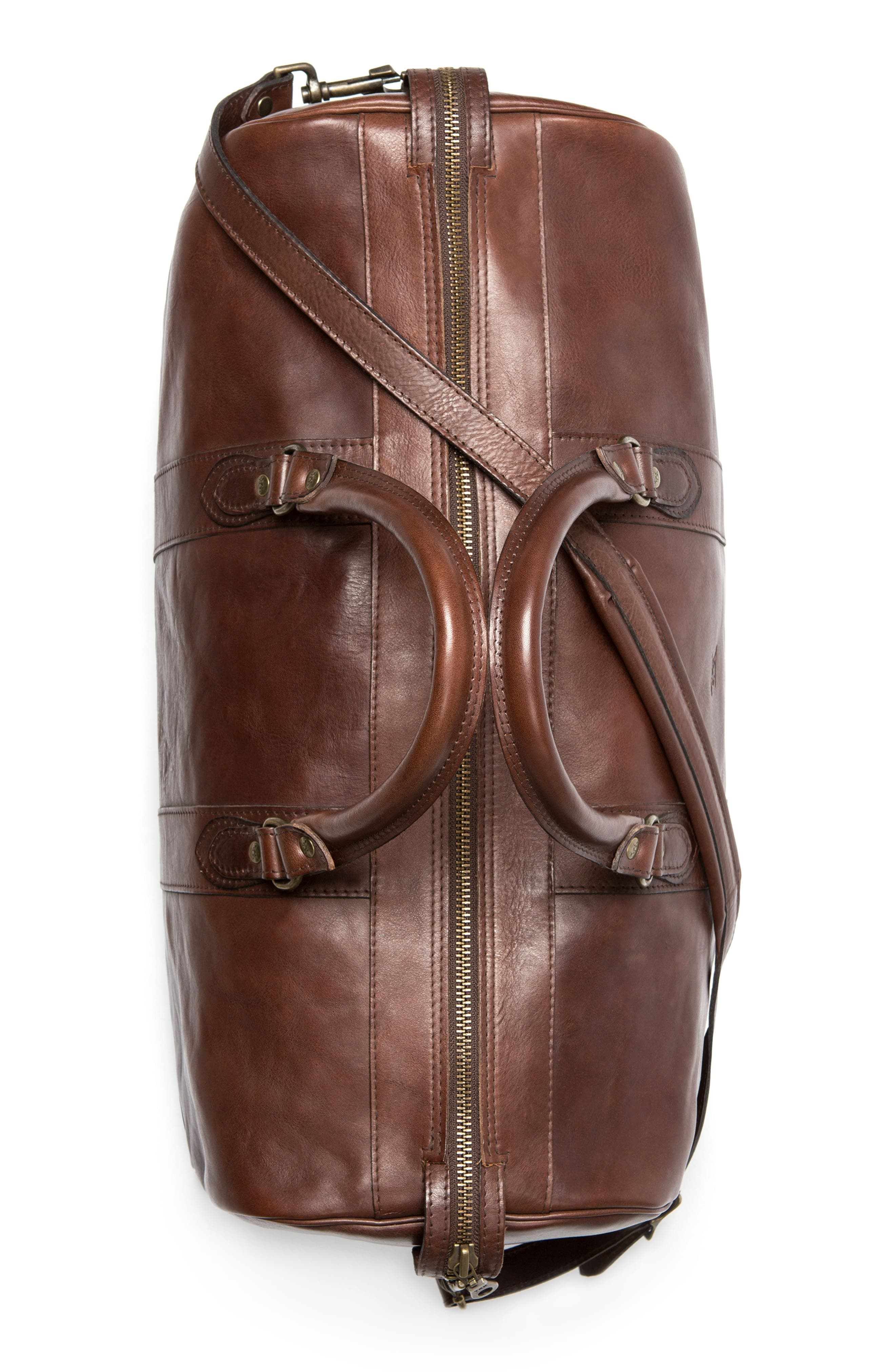 RODD & GUNN,                             Leather Duffel Bag,                             Alternate thumbnail 5, color,                             216