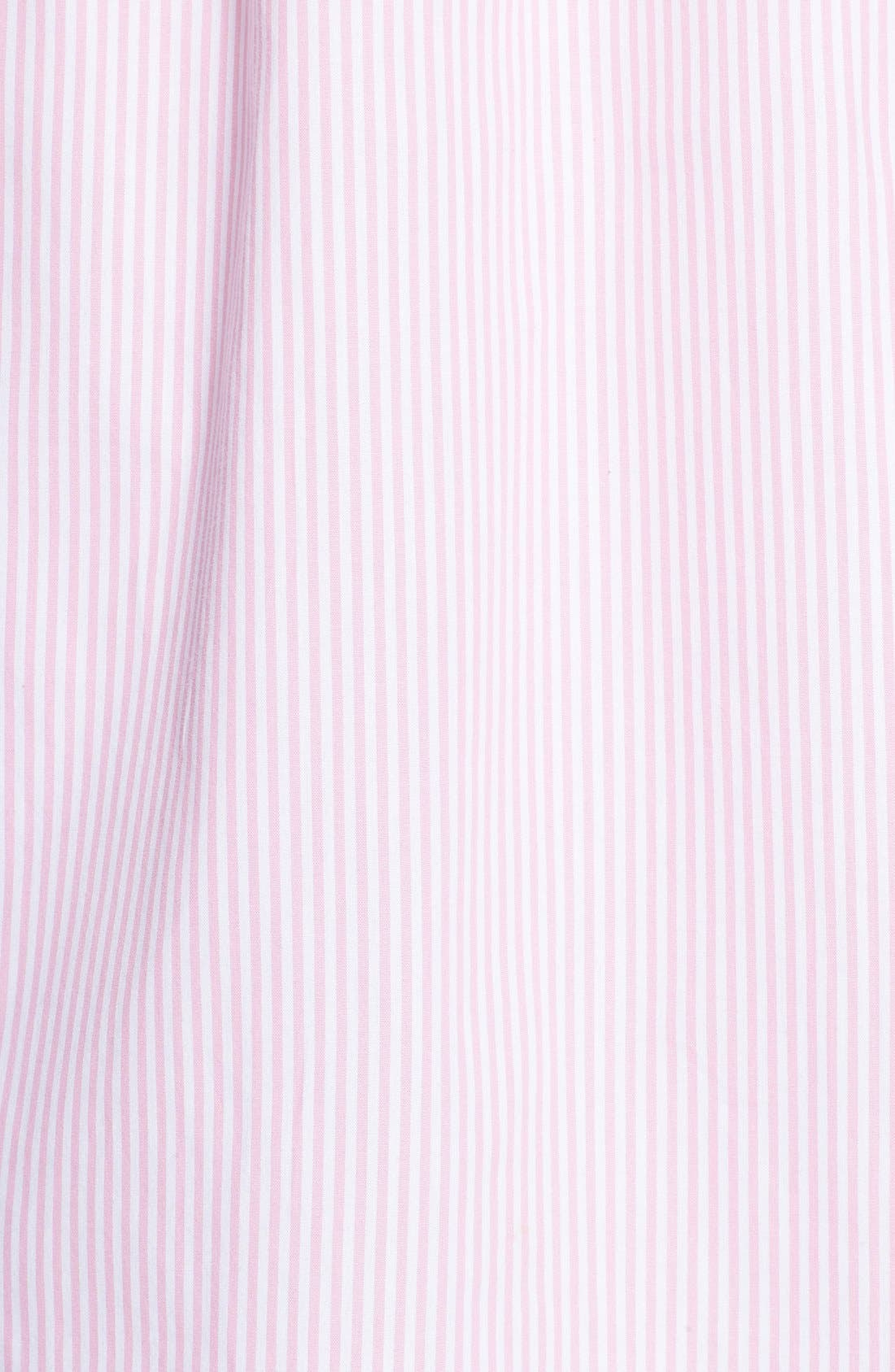 Cotton Poplin Sleep Shirt,                             Alternate thumbnail 18, color,