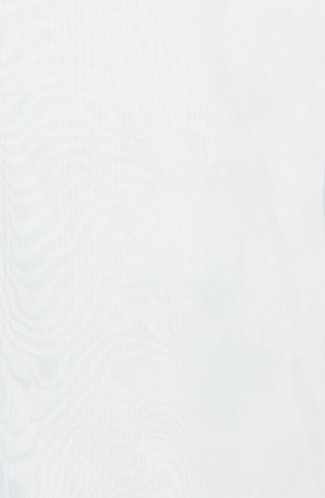 Iridescent Sheer Organza Shirt,                             Alternate thumbnail 7, color,                             400