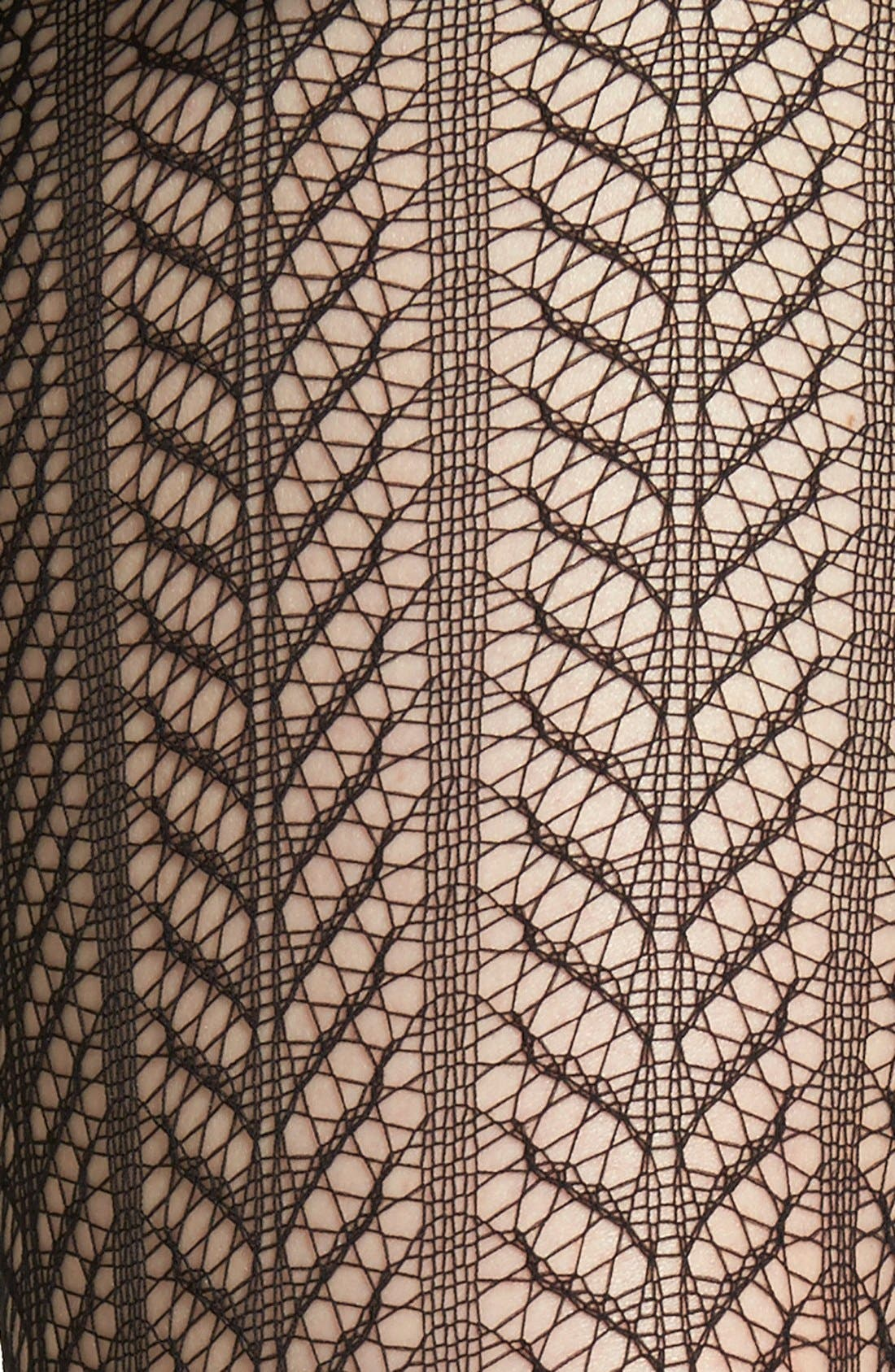 'Pelerine' Openwork Tights,                             Alternate thumbnail 2, color,                             007