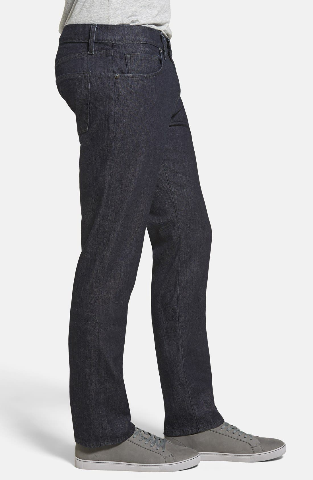 Kane Slim Straight Leg Jeans,                             Alternate thumbnail 5, color,                             HIRSCH