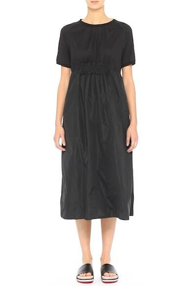 Abito Shirred Midi Dress, video thumbnail