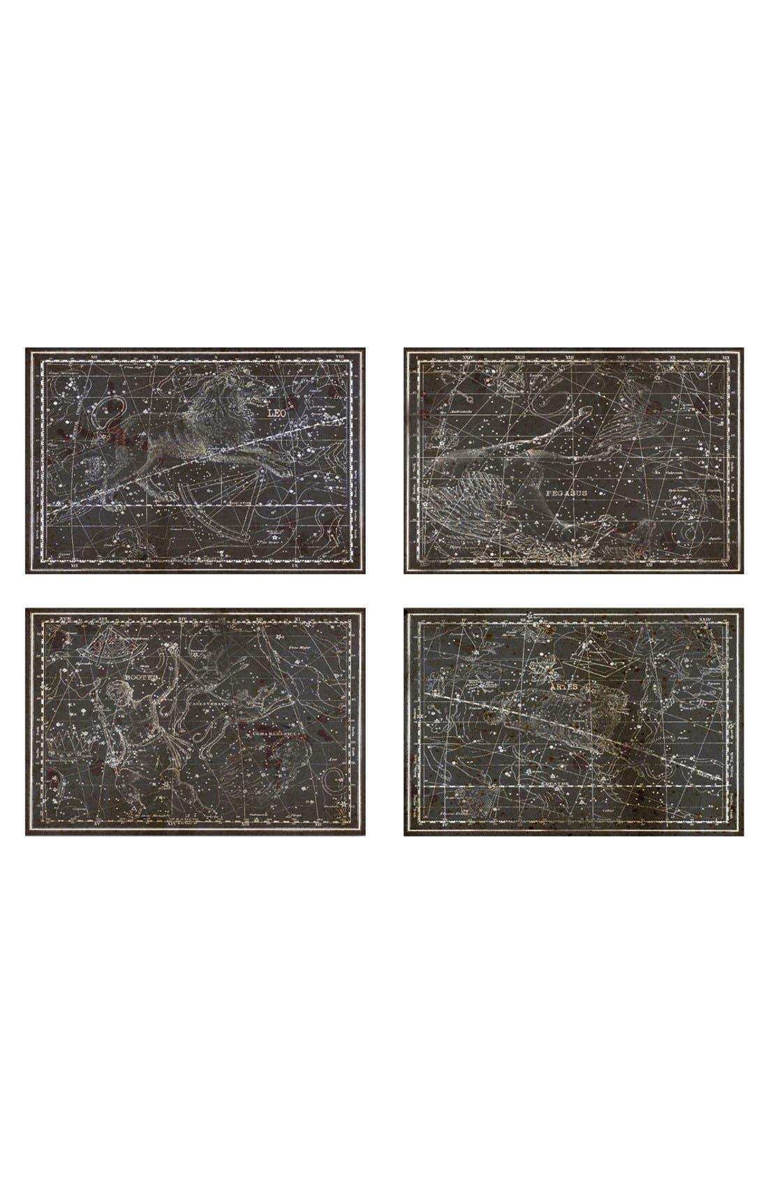 'Celestial Map XVI Century' Canvas Prints,                             Main thumbnail 1, color,                             001