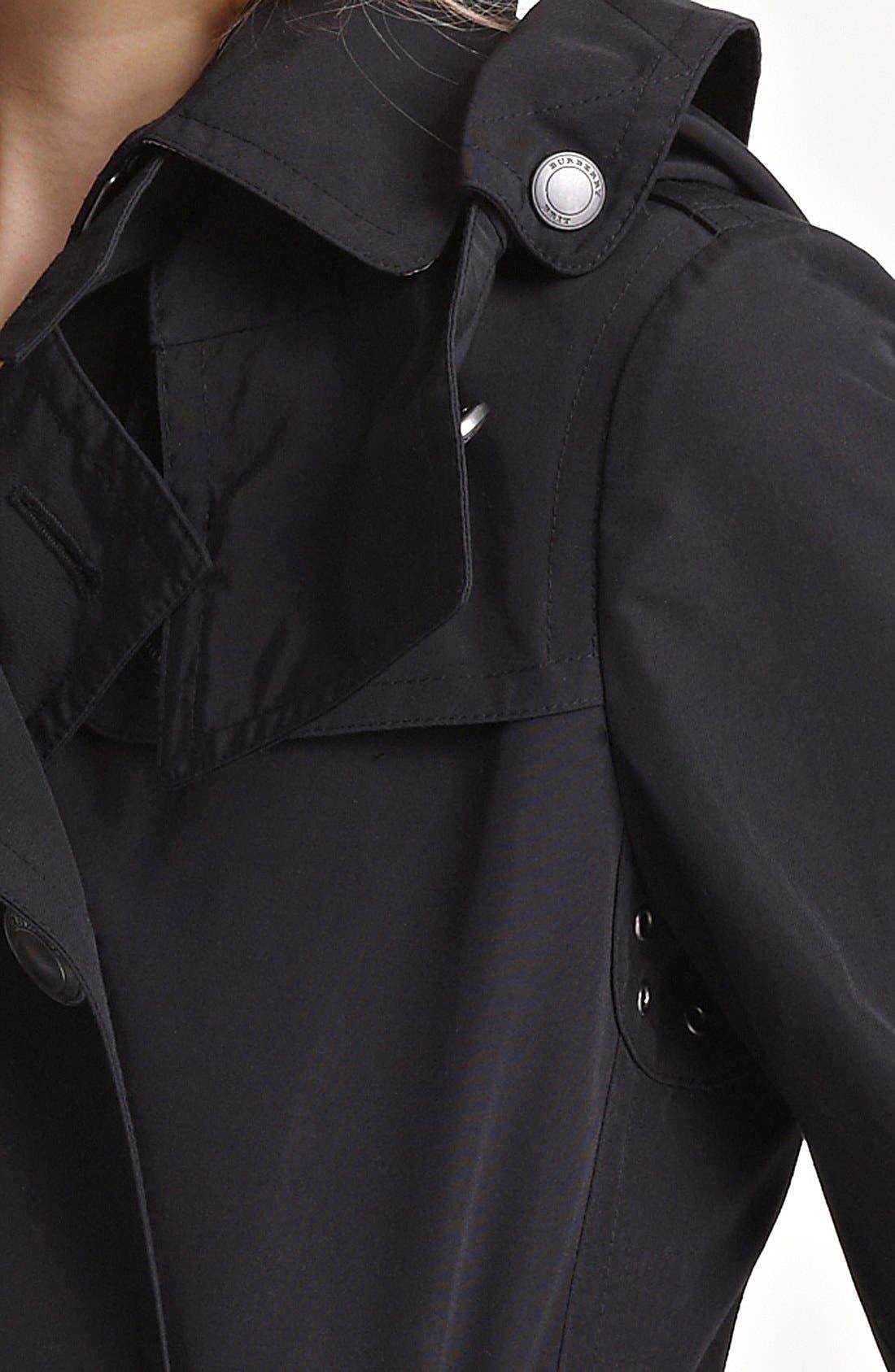 'Balmoral' Trench Coat,                             Alternate thumbnail 2, color,                             001