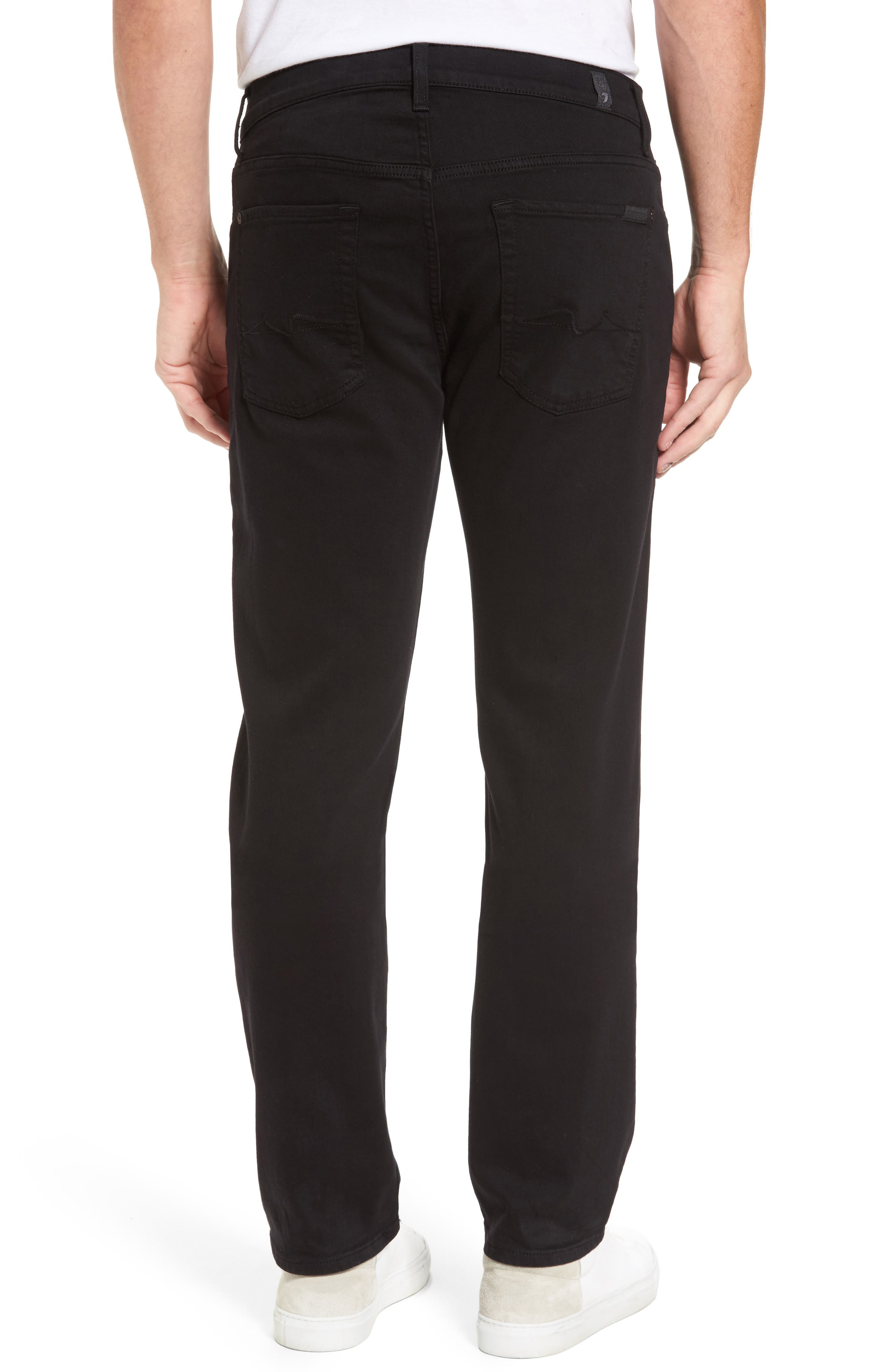 The Standard Straight Leg Jeans,                             Alternate thumbnail 2, color,                             ANNEX BLACK
