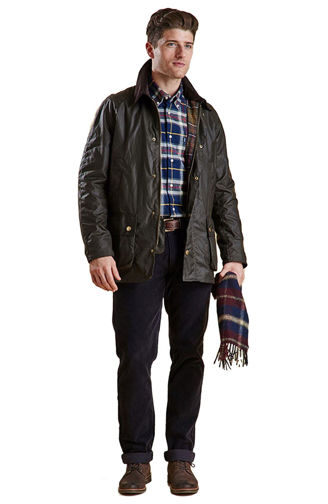'Ashby' Regular Fit Waterproof Jacket,                             Alternate thumbnail 9, color,                             340