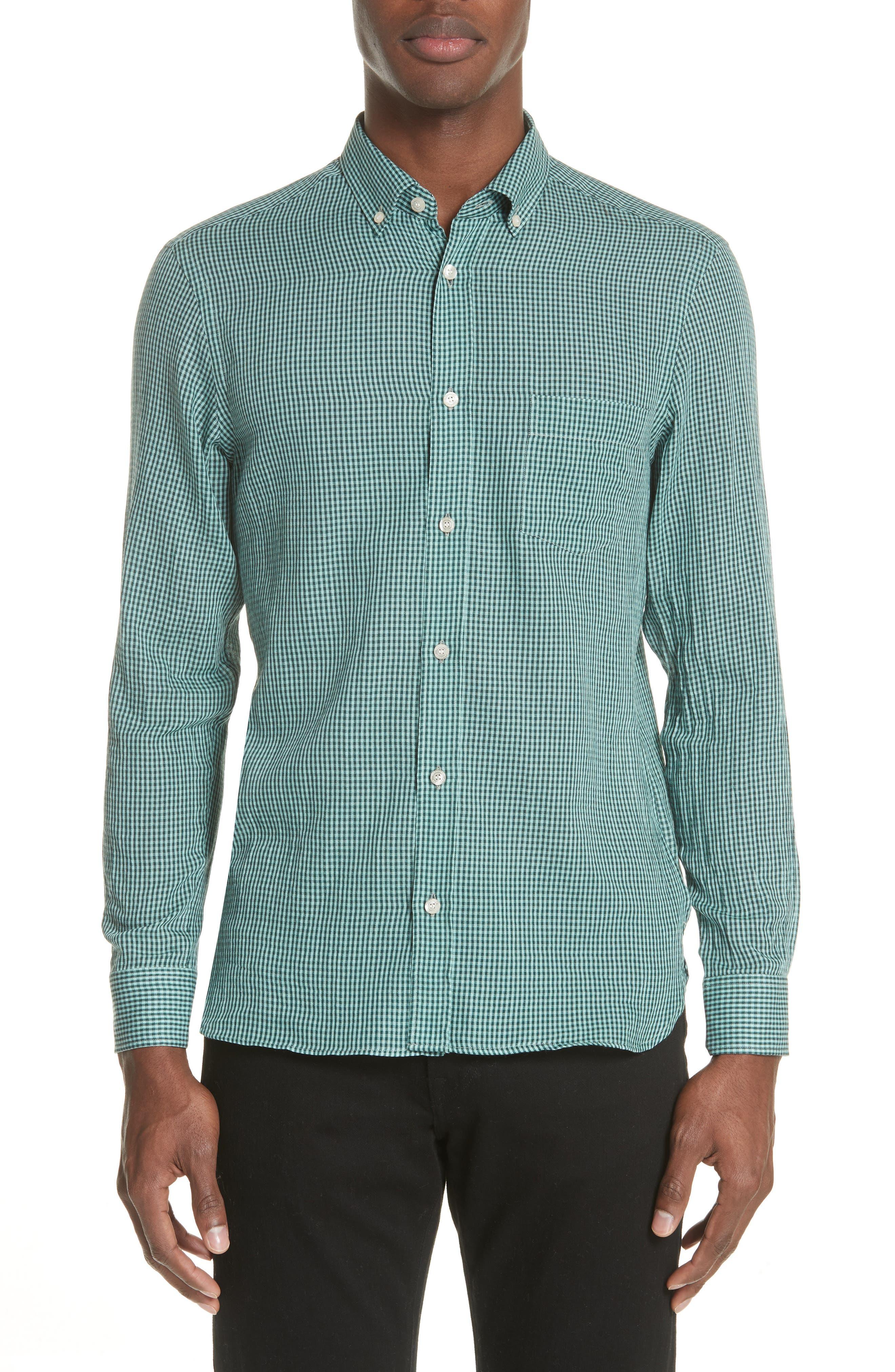 Check Sport Shirt,                         Main,                         color, 325