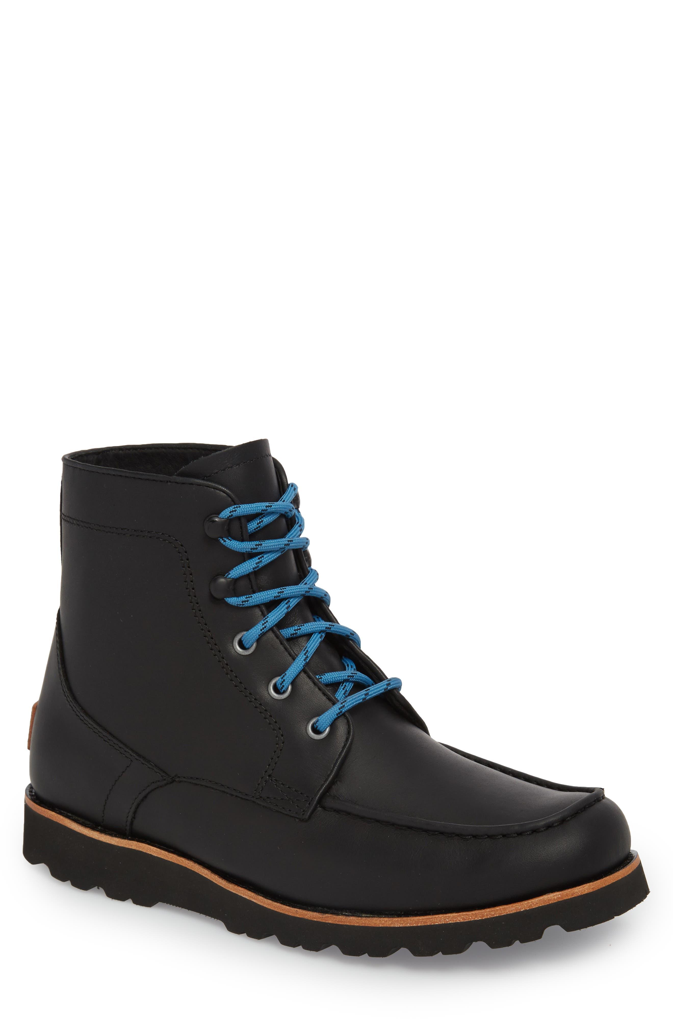 Agnar Moc Toe Boot,                         Main,                         color, 001