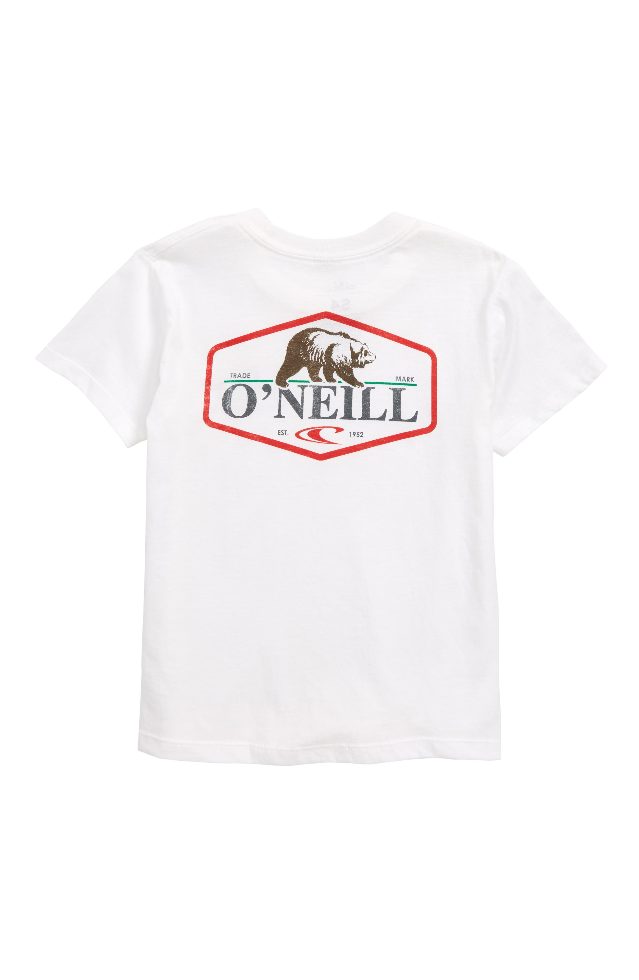 O'NEILL,                             Bear T-Shirt,                             Alternate thumbnail 2, color,                             100