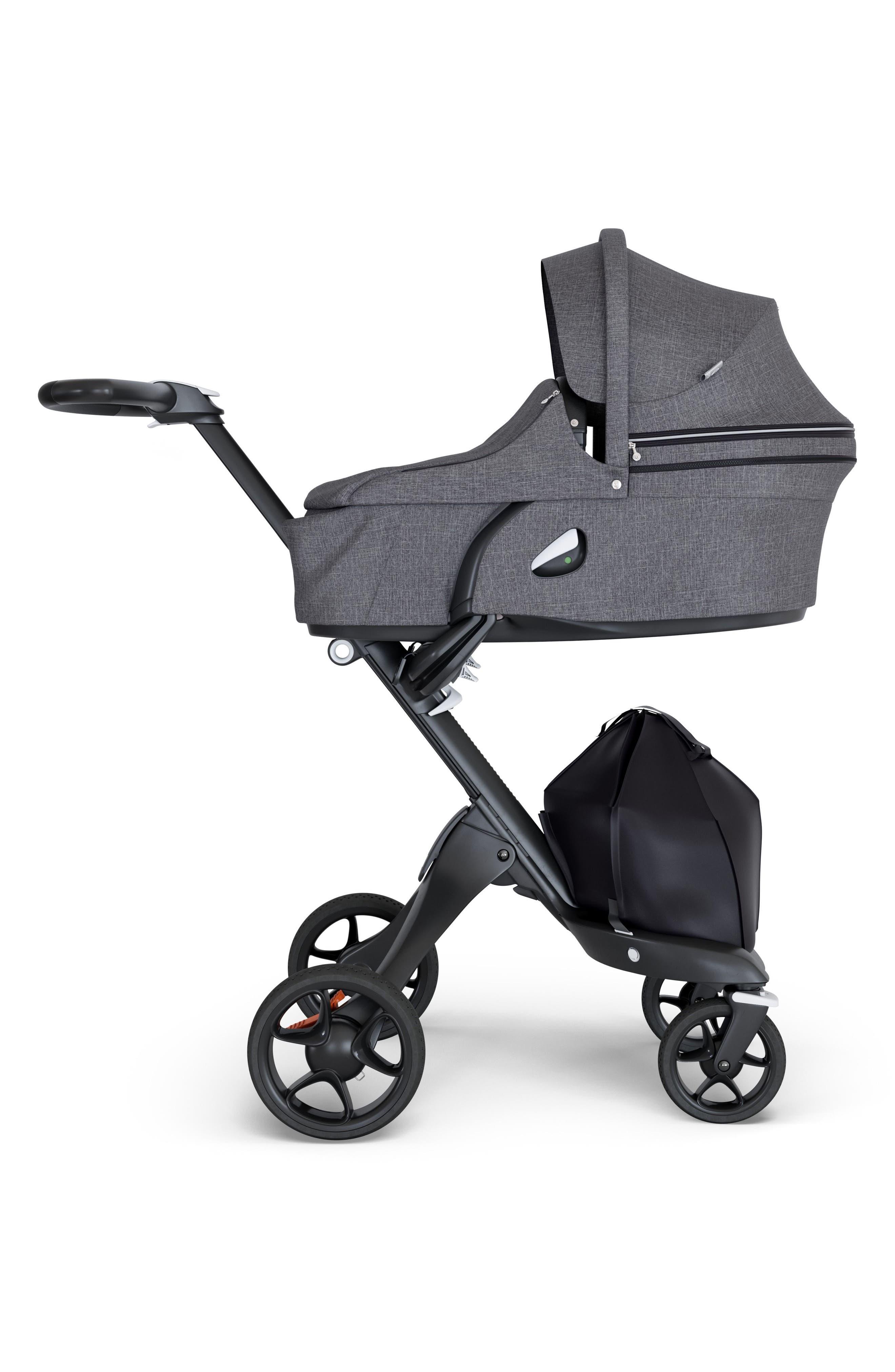 Xplory<sup>®</sup> Carry Cot Attachment,                         Main,                         color, BLACK MELANGE