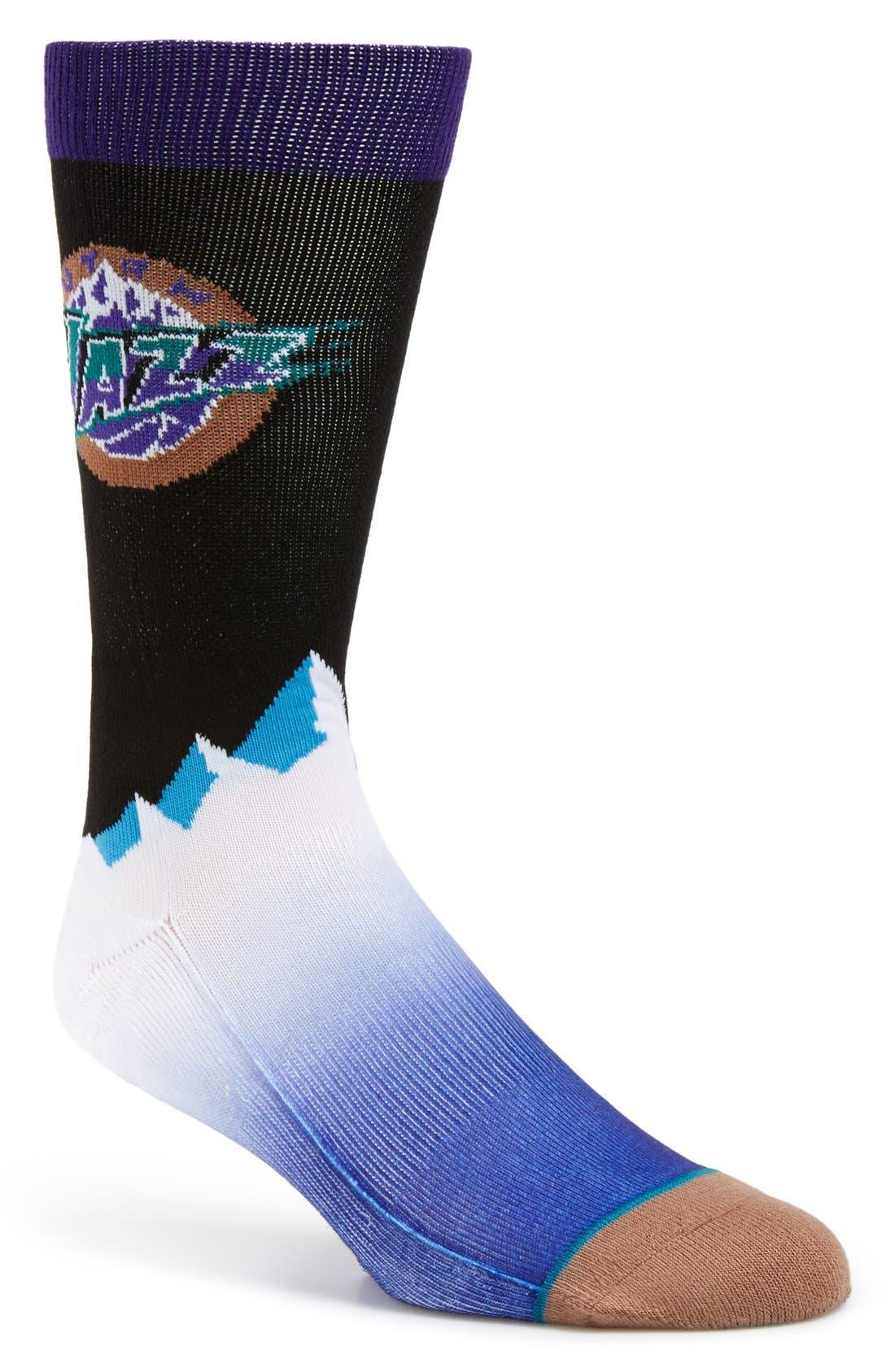 'Utah Jazz - NBA Legends' Socks, Main, color, 001