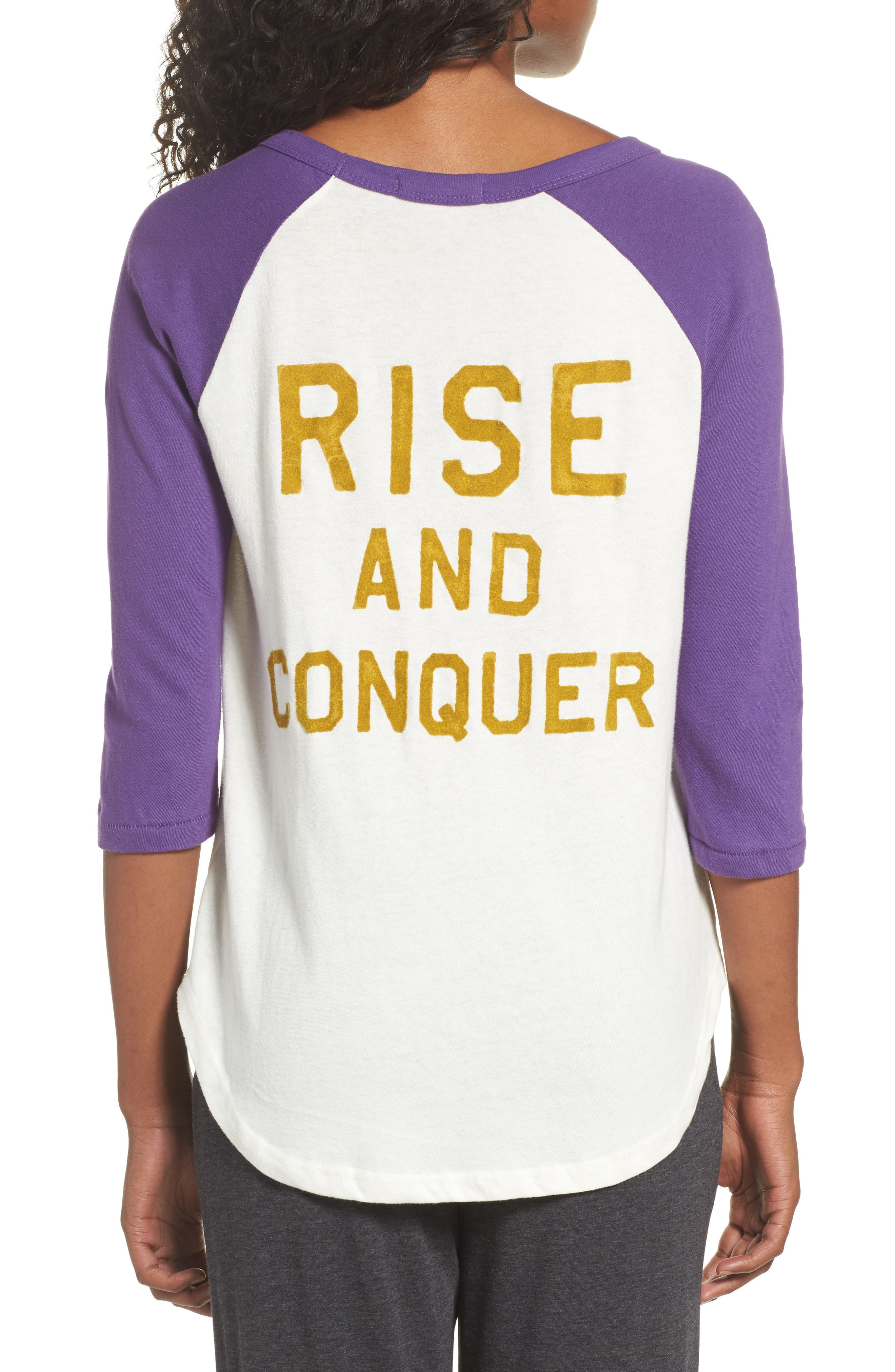 NFL Baltimore Ravens Raglan Tee,                             Alternate thumbnail 2, color,                             189