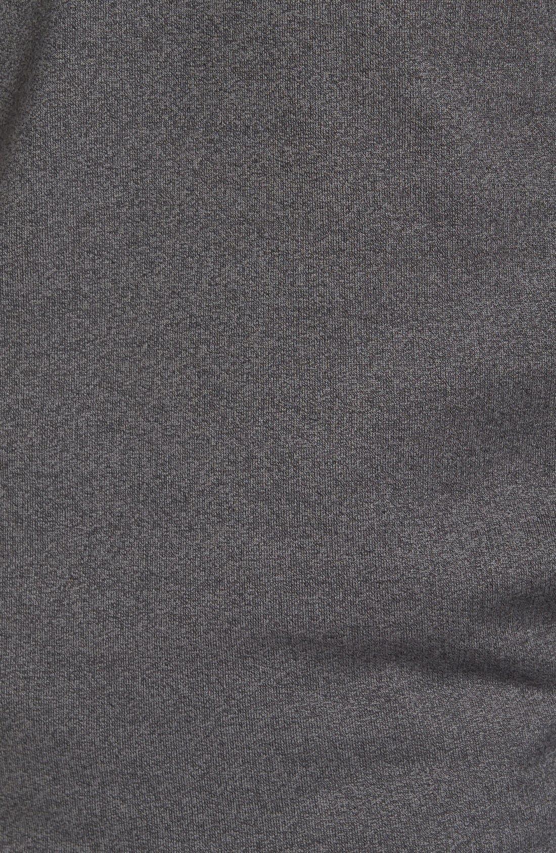 'Wall' Mock Neck Pullover,                             Alternate thumbnail 5, color,                             QUIET SHADE/ BLACK