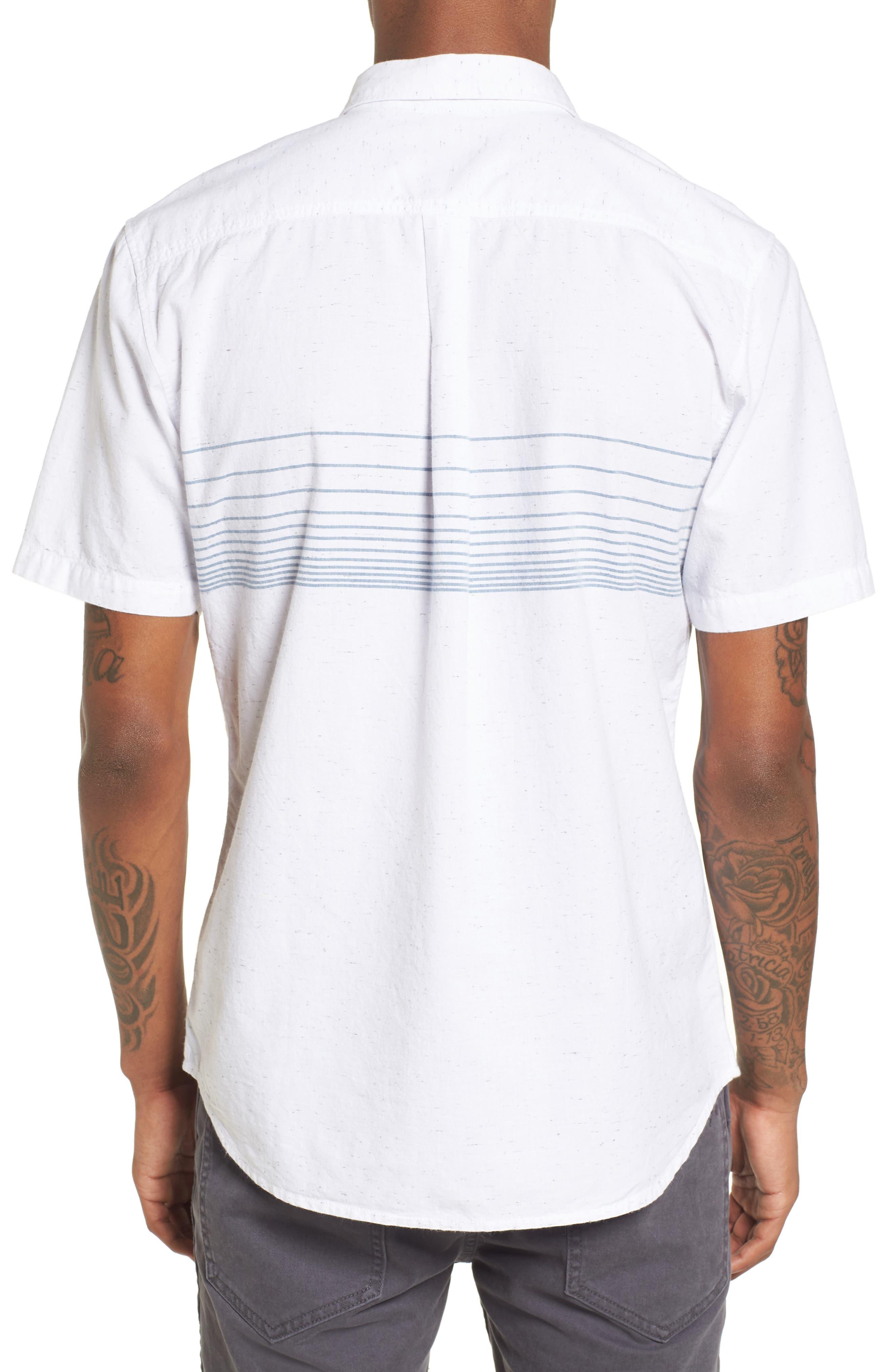 Gillis Woven Shirt,                             Alternate thumbnail 2, color,                             100