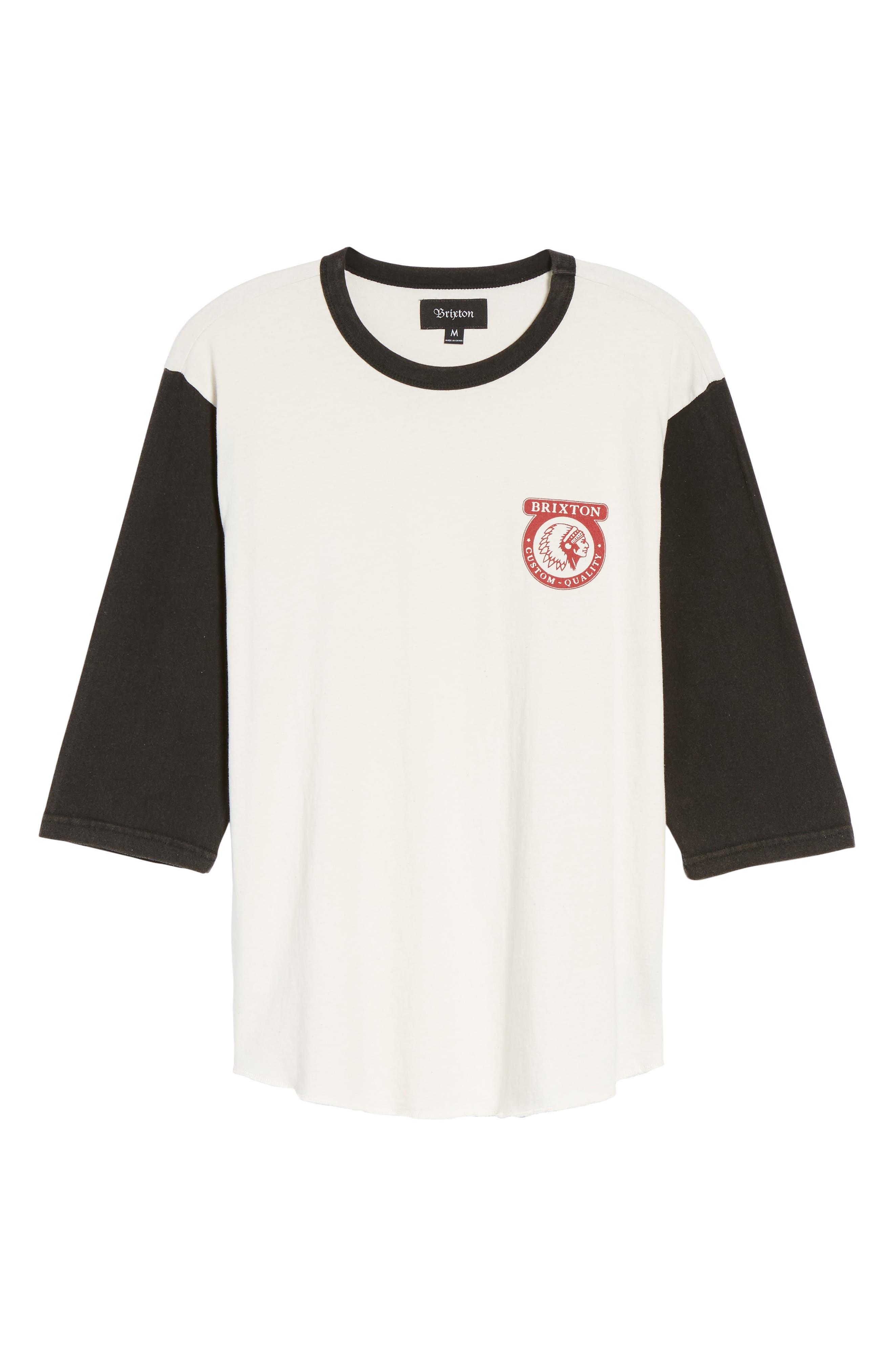 Washed Baseball T-Shirt,                             Alternate thumbnail 6, color,                             900