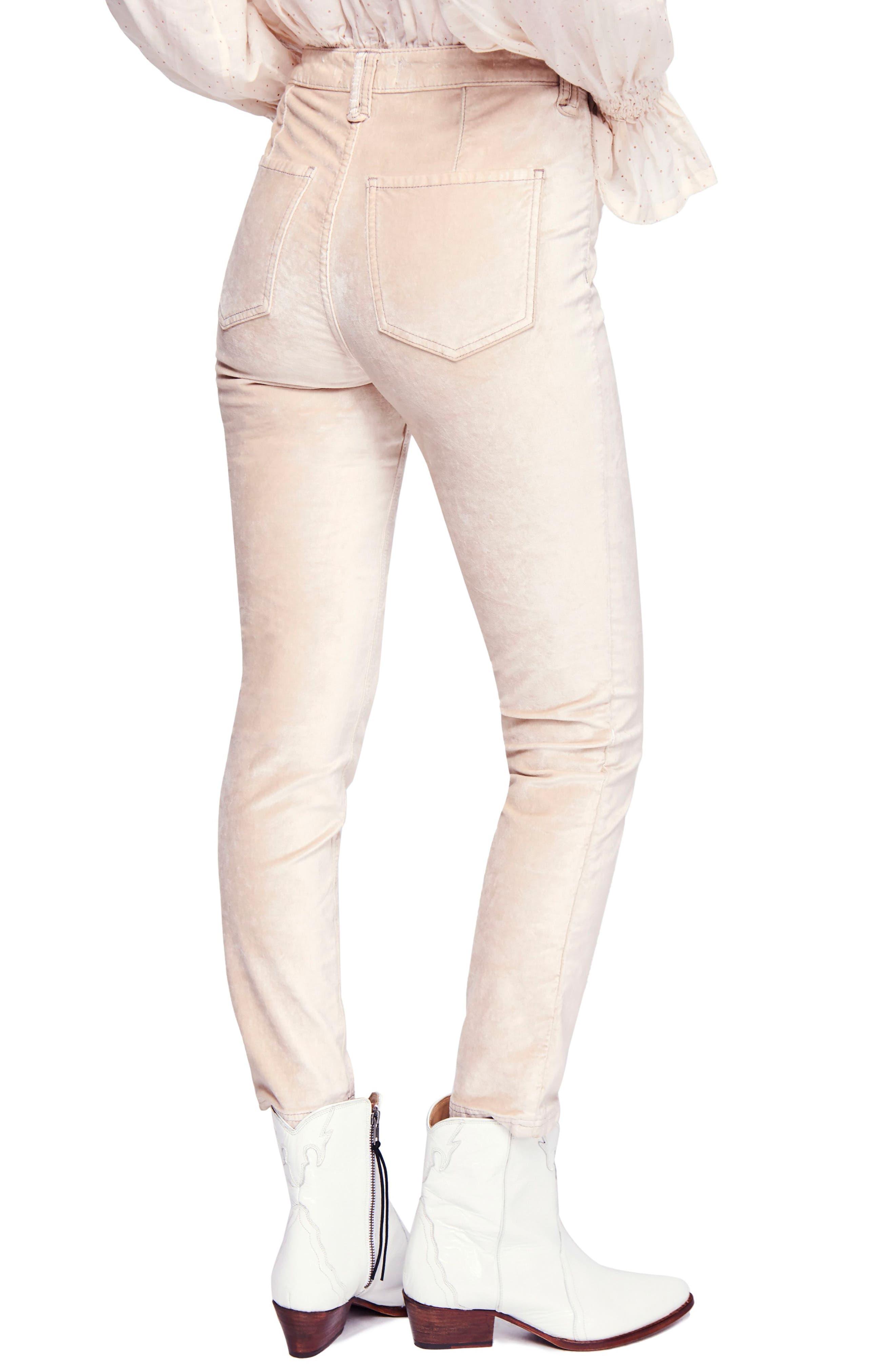 Sweet Jane Velvet Skinny Jeans,                             Alternate thumbnail 2, color,                             903