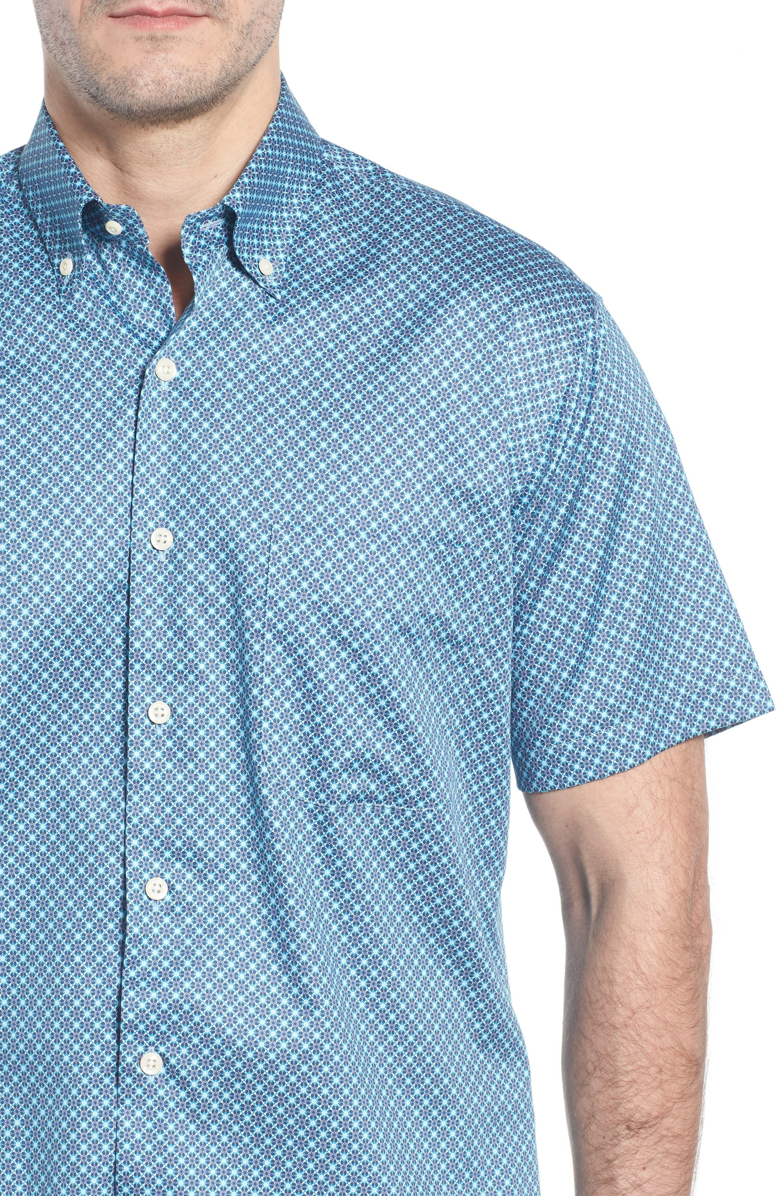 Get Kracken Sport Shirt,                             Alternate thumbnail 4, color,                             424