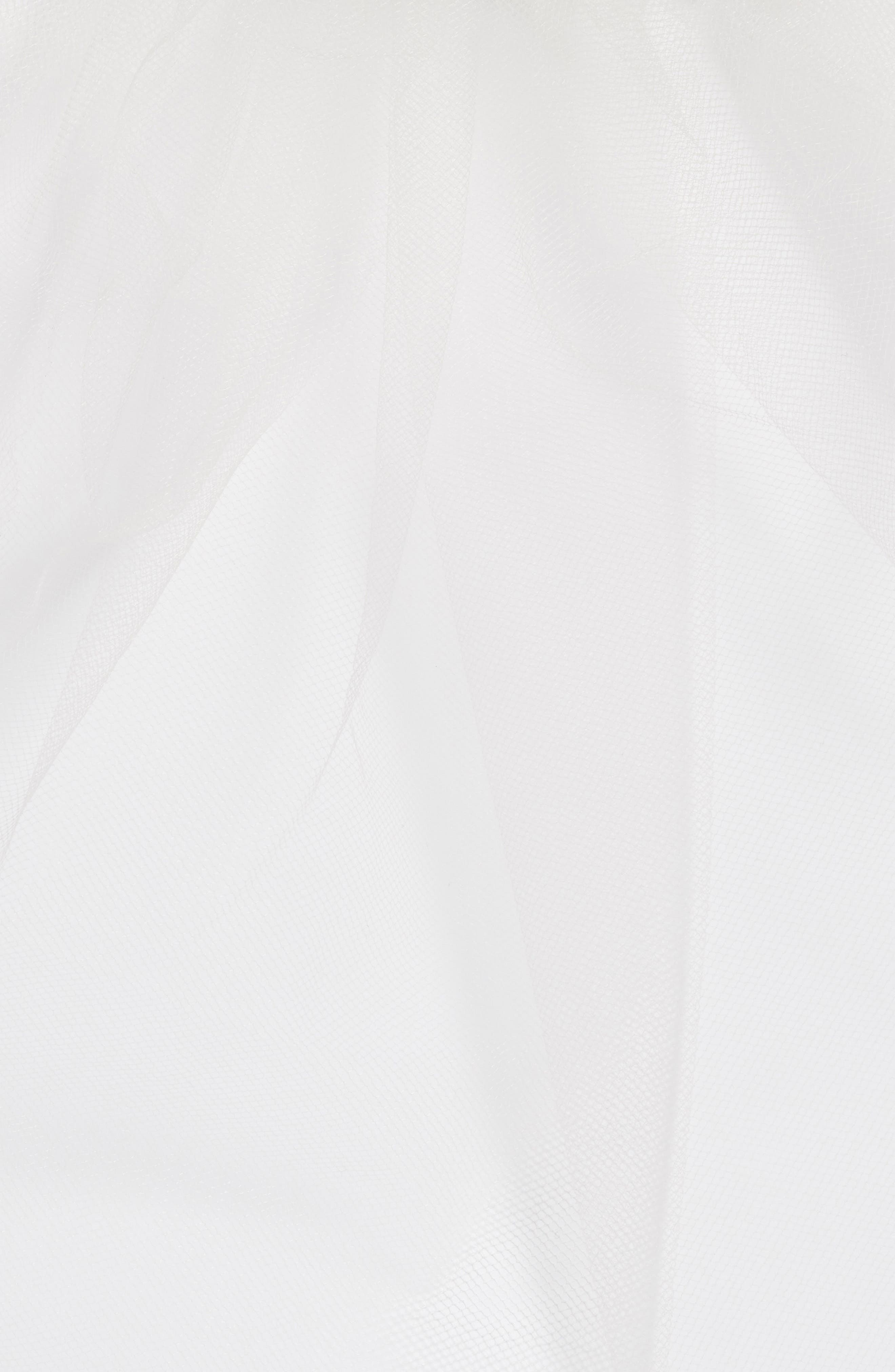 Bridal Veil Hair Comb,                             Alternate thumbnail 3, color,                             900