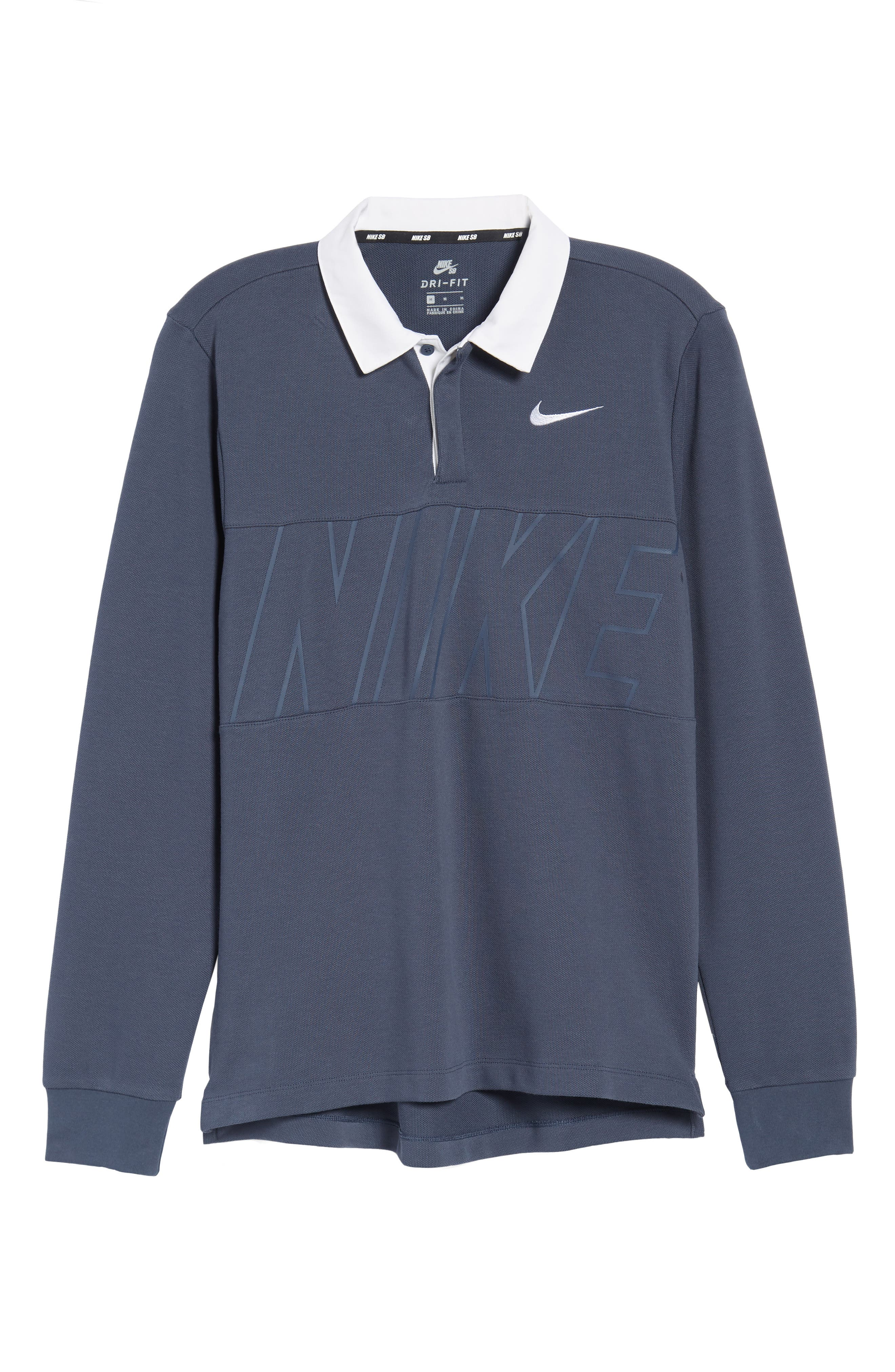 Nike Dry SB Rugby Polo,                             Alternate thumbnail 6, color,                             471