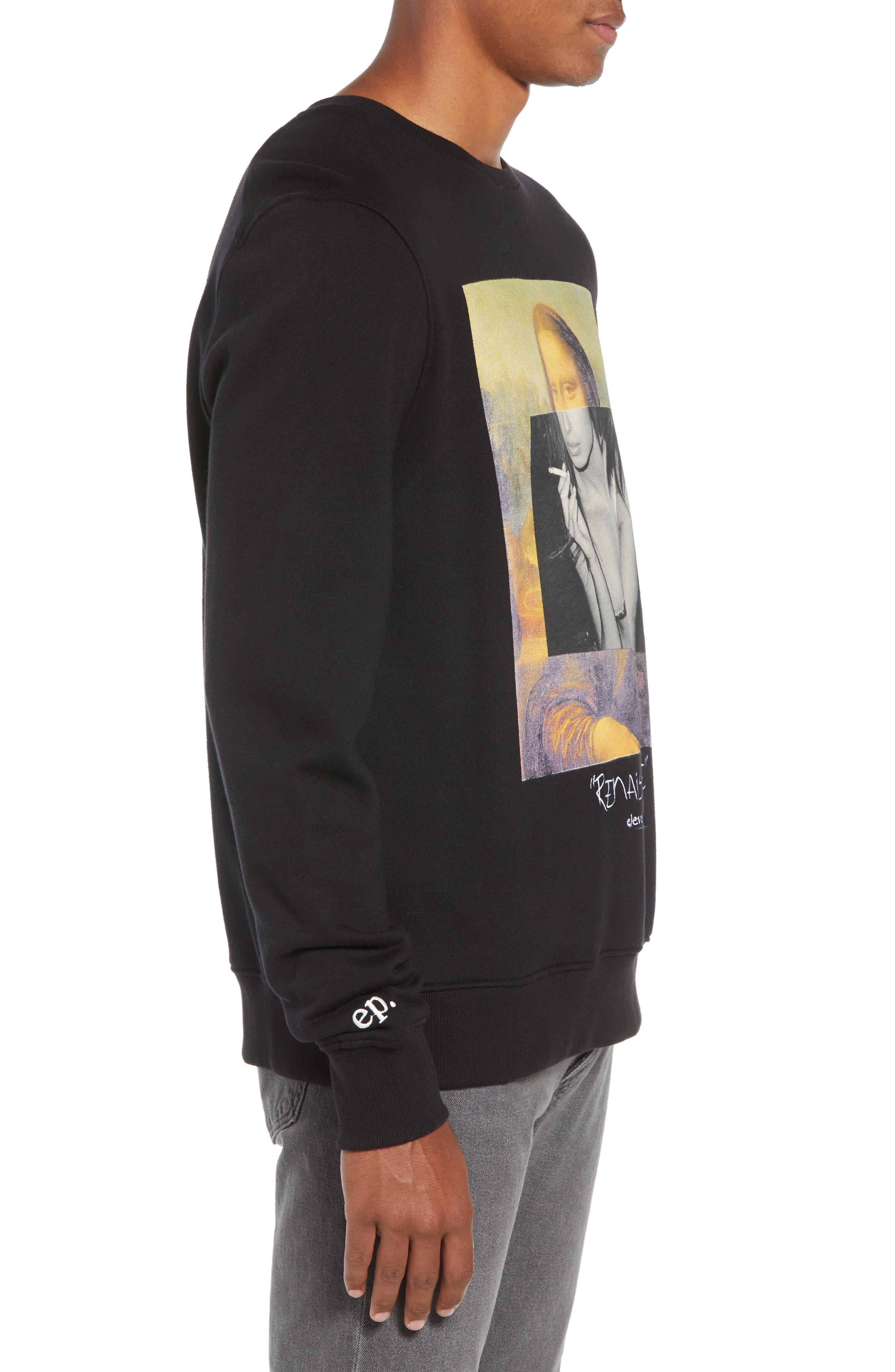 ELEVENPARIS,                             Renaissance Sweatshirt,                             Alternate thumbnail 3, color,                             002