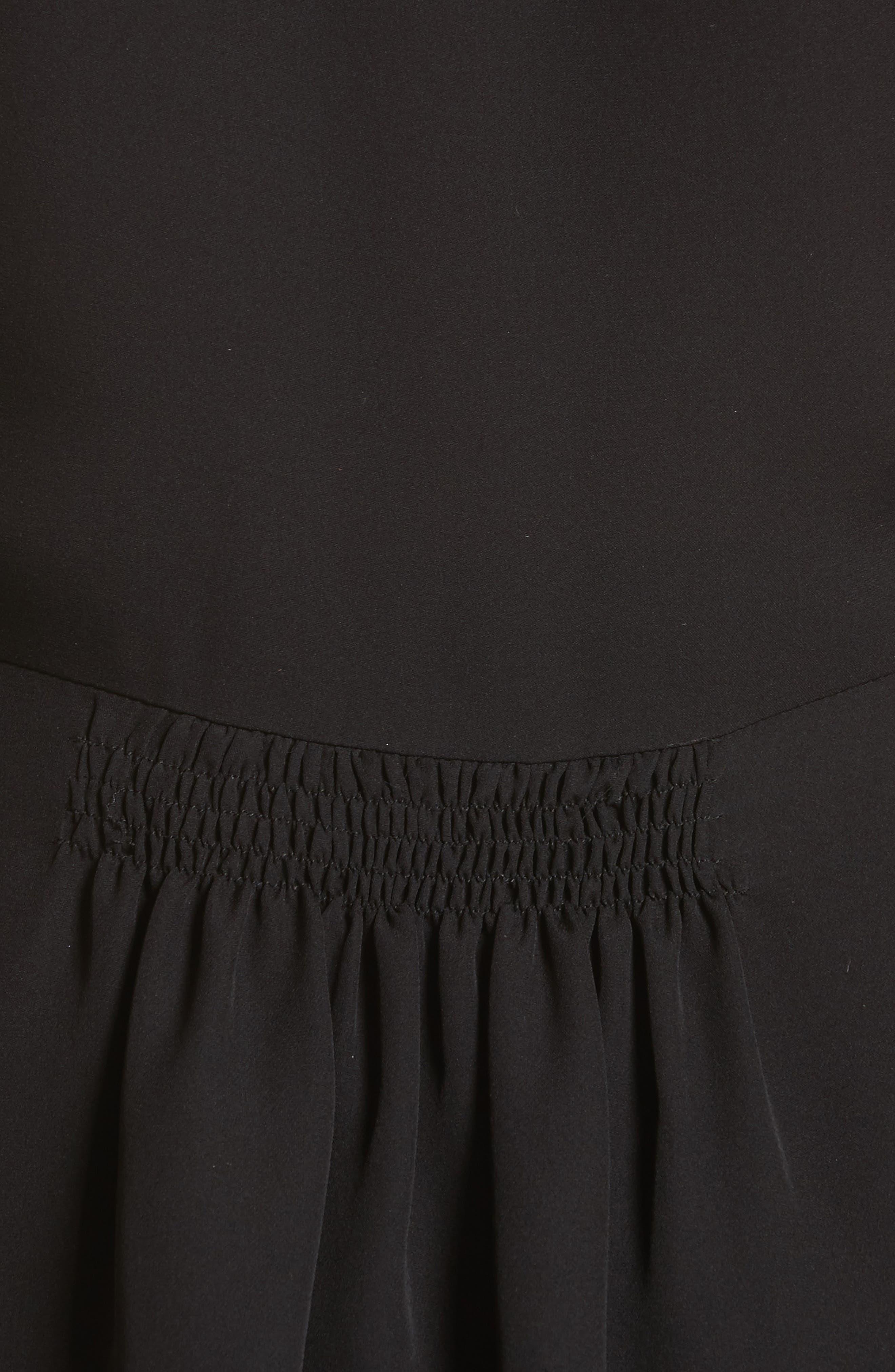 Sleeveless Silk Blouse,                             Alternate thumbnail 5, color,                             001