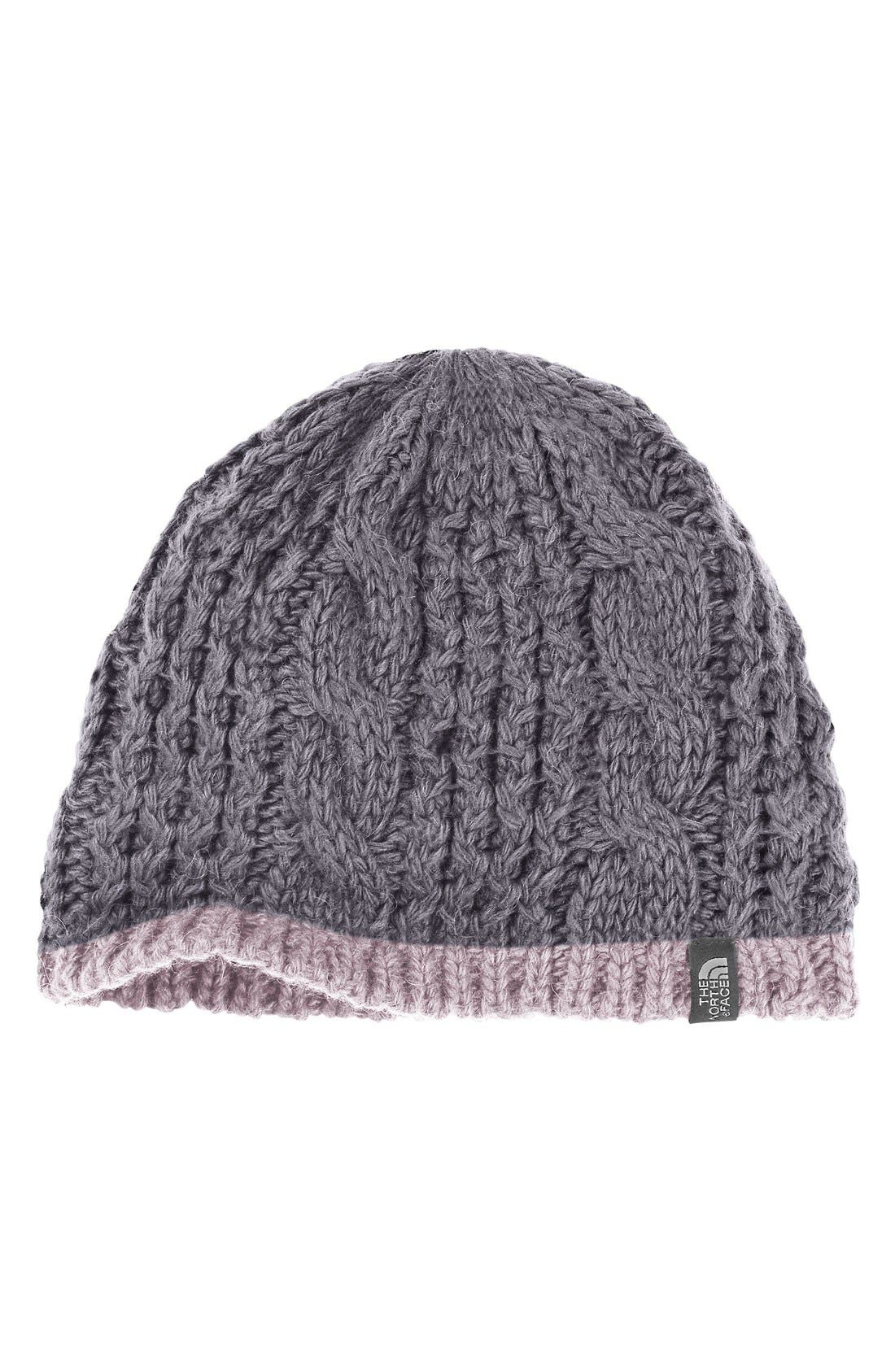 'Minna' Cable Knit Beanie,                             Main thumbnail 6, color,