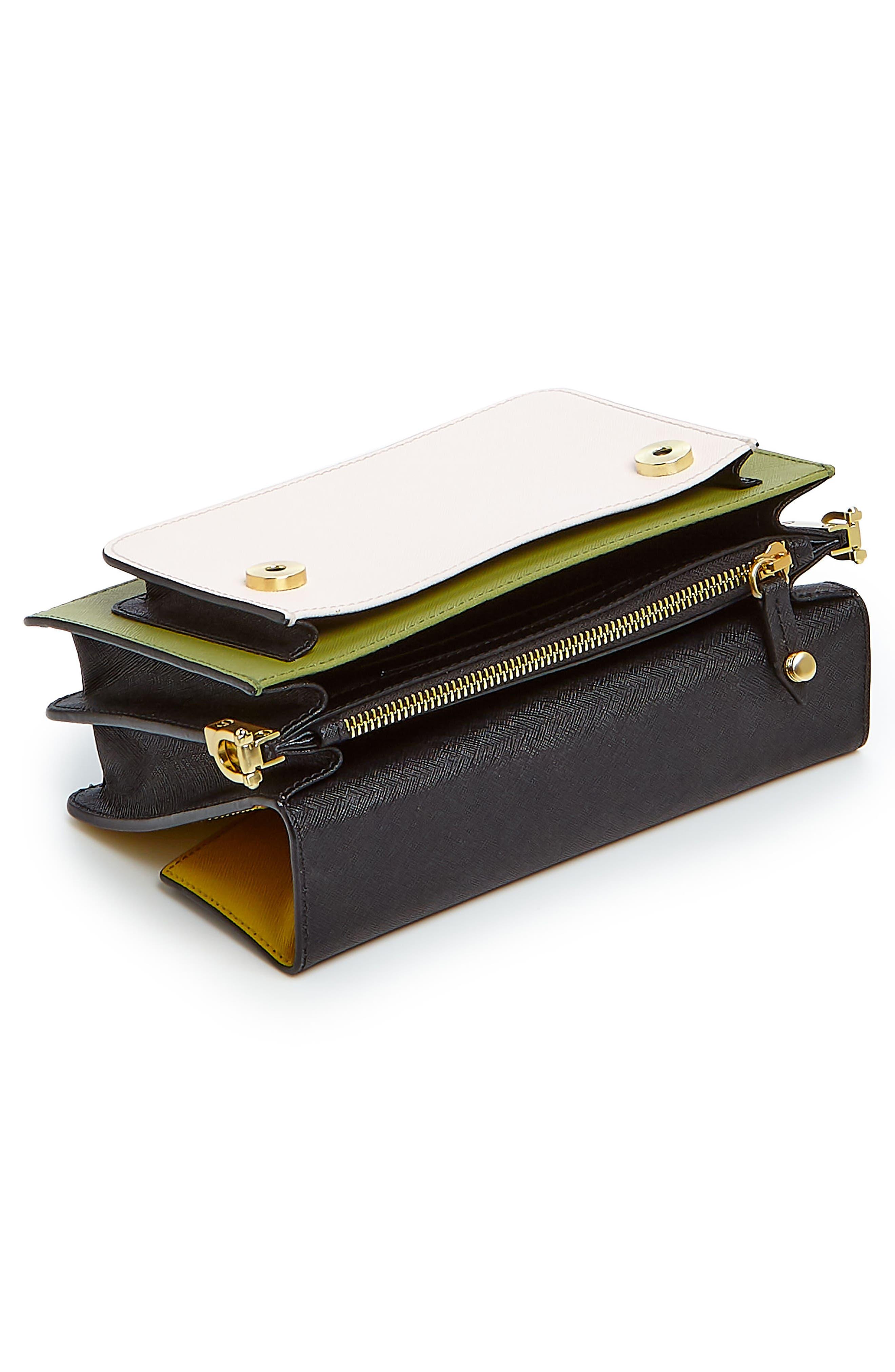 Cobble Hill Leather Crossbody Bag,                             Alternate thumbnail 129, color,