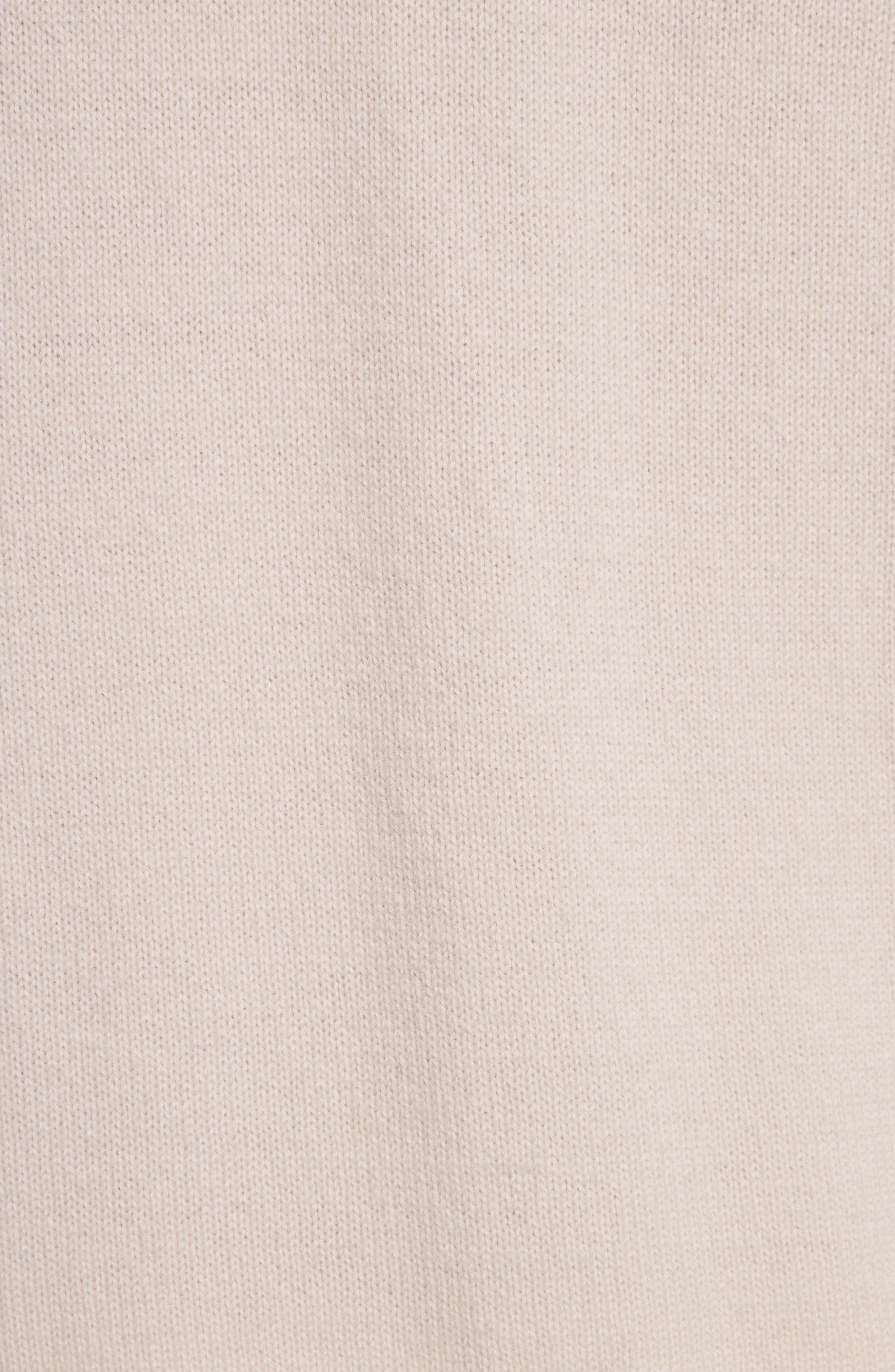 Wide Collar Cashmere Cardigan,                             Alternate thumbnail 14, color,