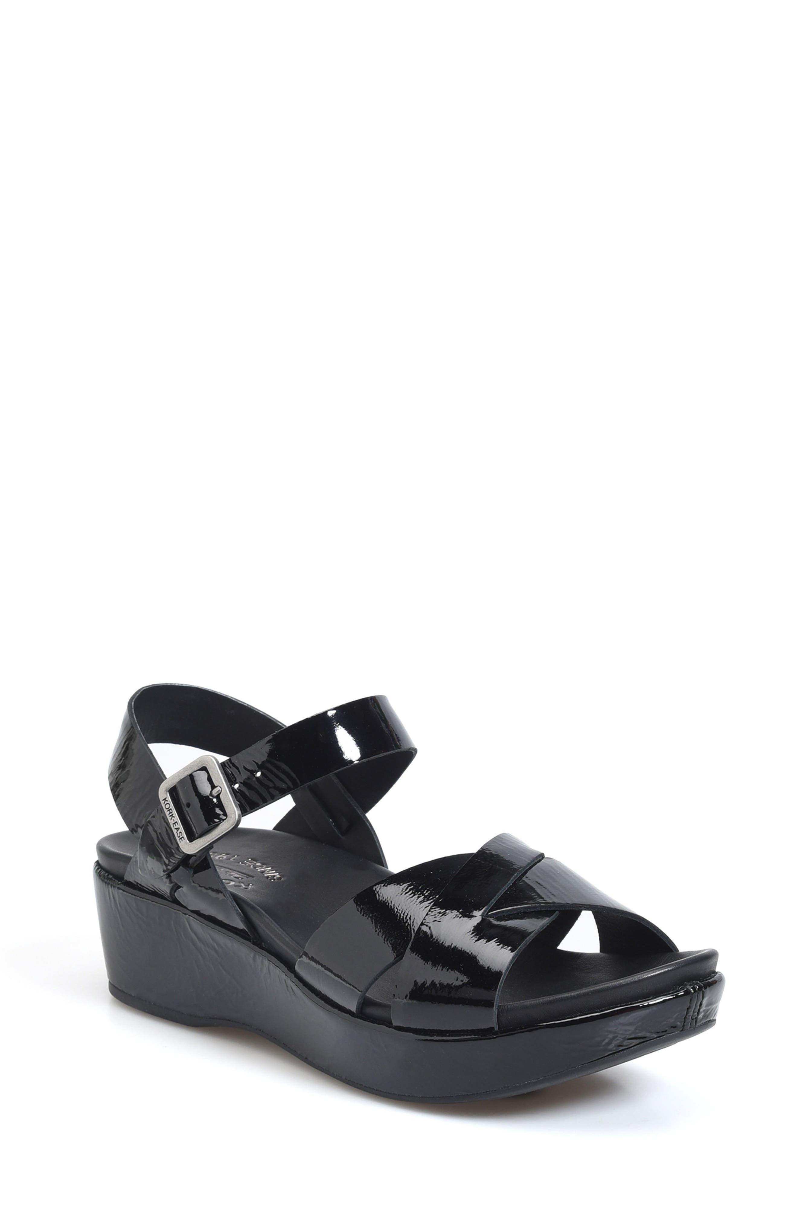 'Myrna 2.0' Cork Wedge Sandal,                         Main,                         color, 002