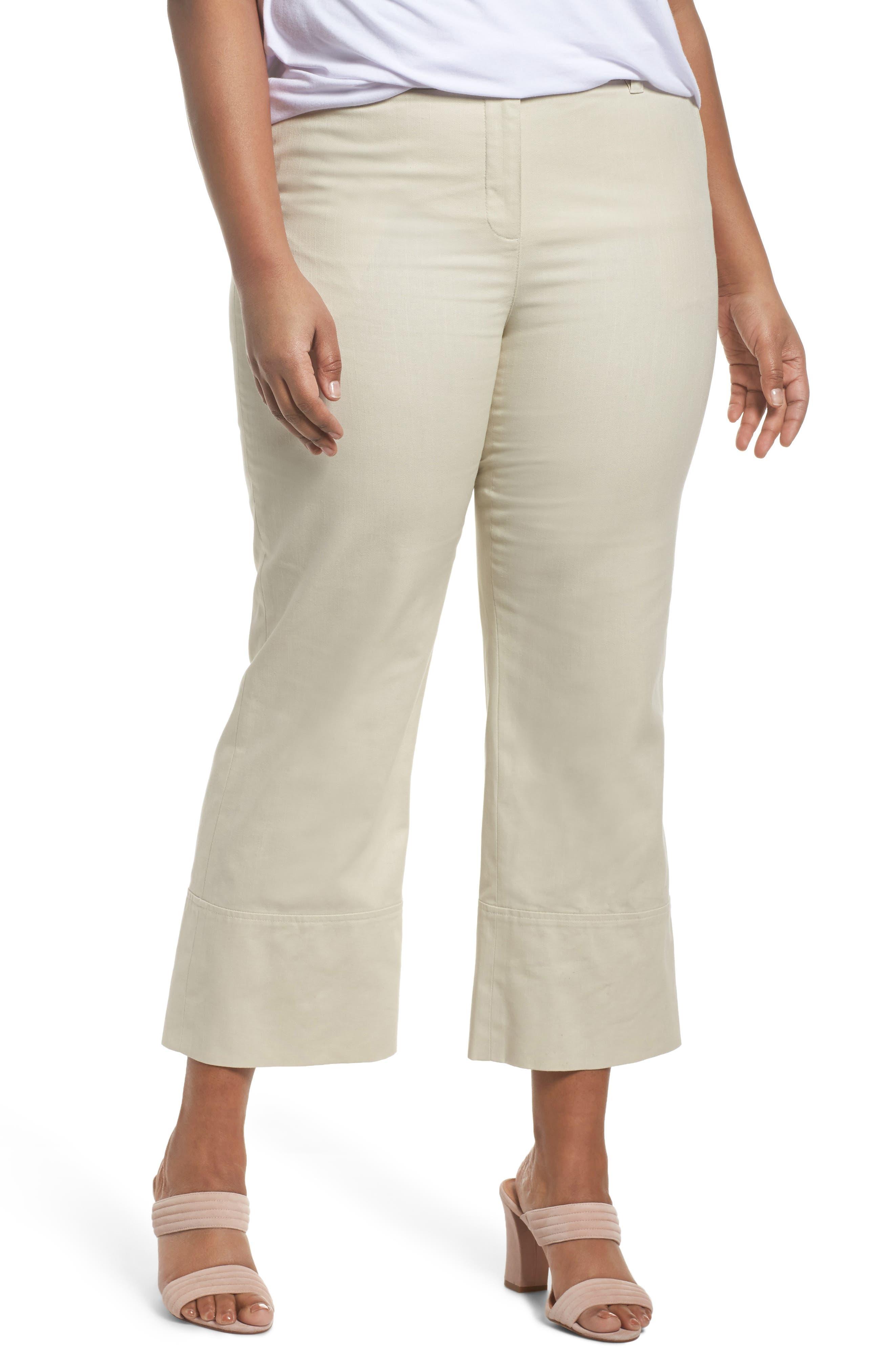 Wide Leg Ankle Pants,                         Main,                         color, 270