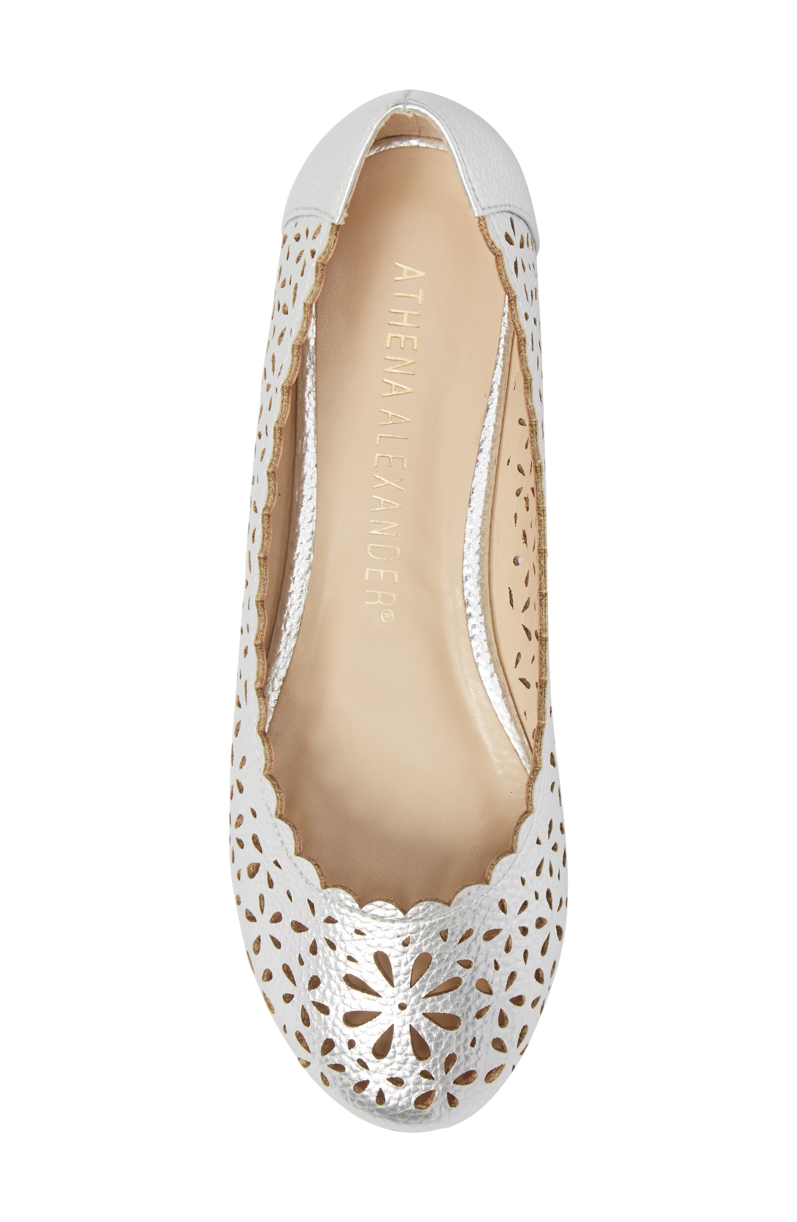 Annora Perforated Flat,                             Alternate thumbnail 14, color,