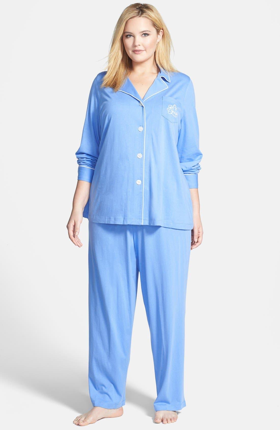 Knit Pajamas,                             Main thumbnail 5, color,