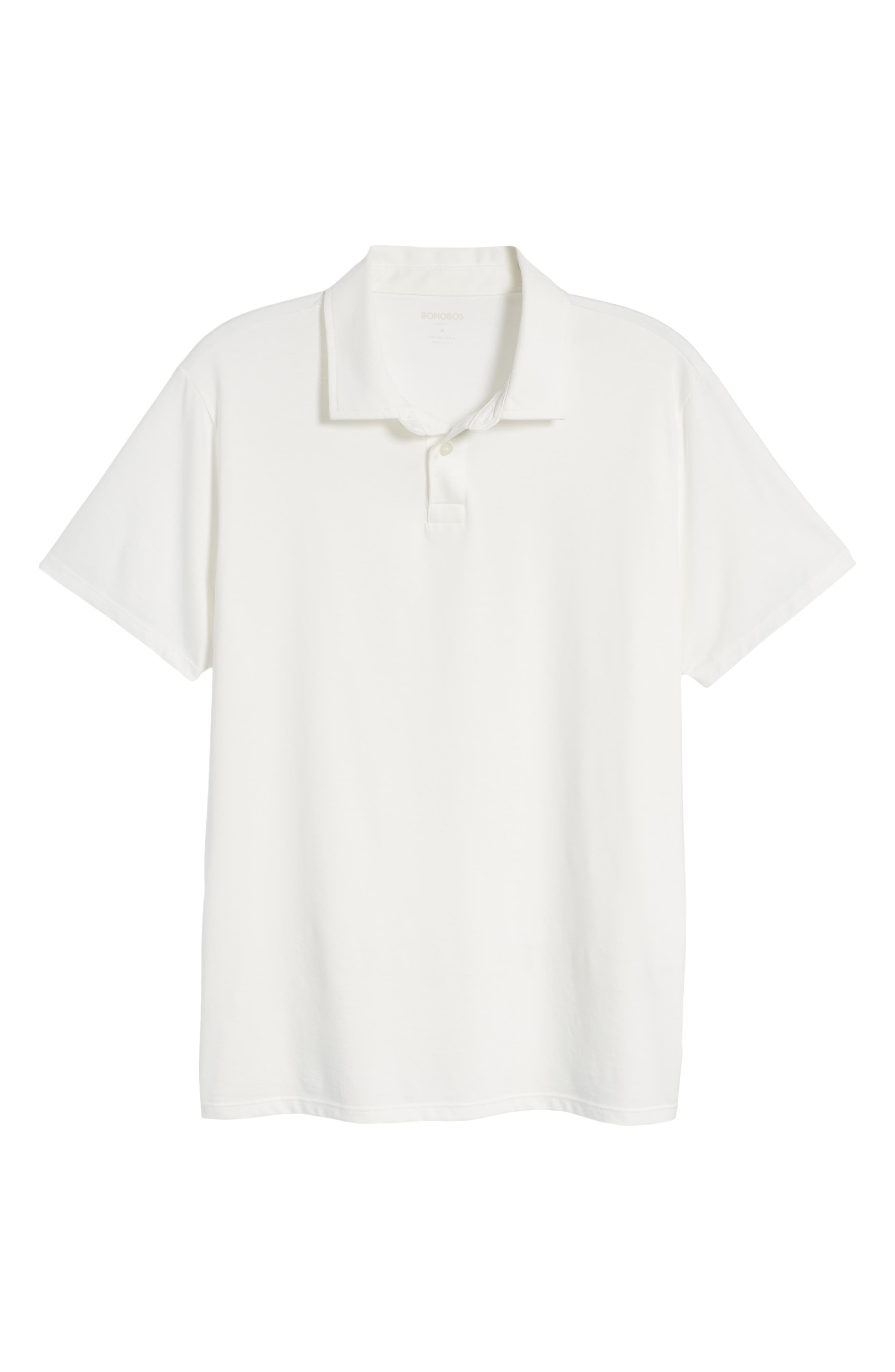 Refined Jersey Polo,                             Alternate thumbnail 43, color,