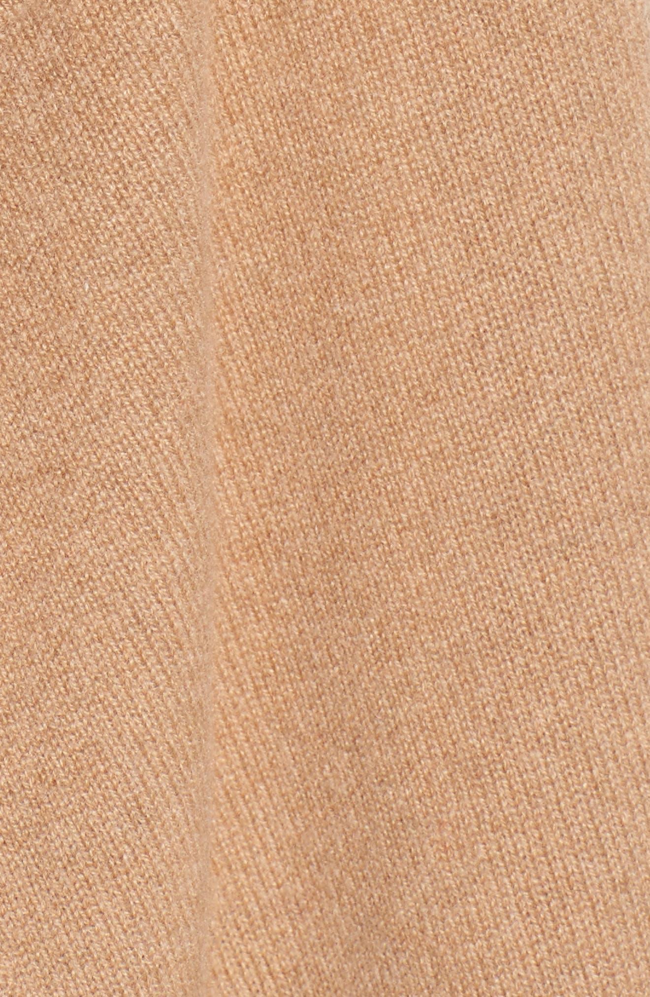 Cashmere Long Drape Front Cardigan,                             Alternate thumbnail 42, color,