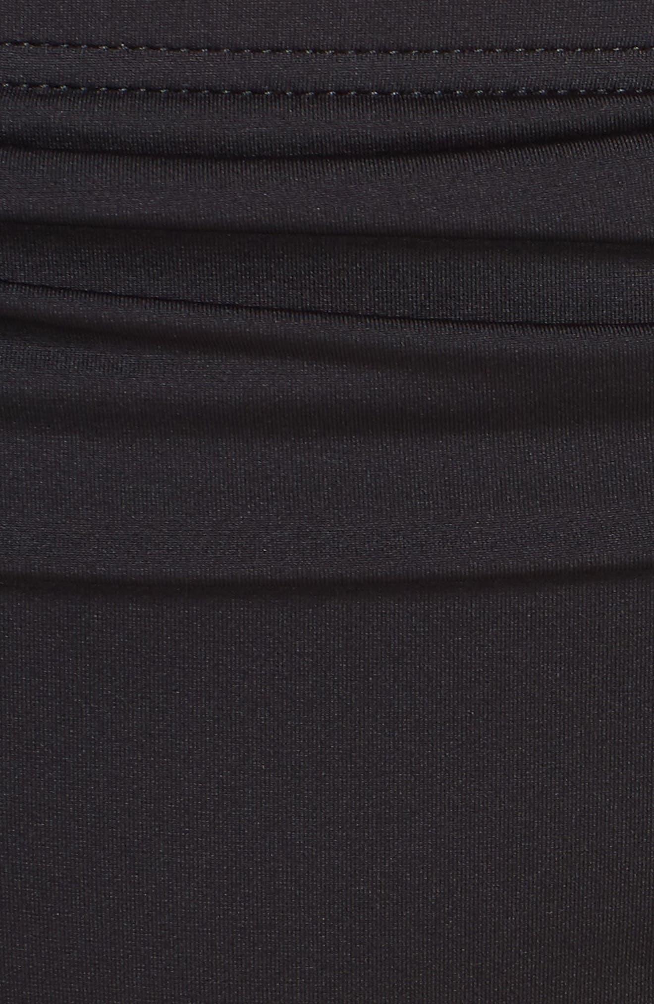 TOMMY BAHAMA,                             'Pearl' High Waist Bikini Bottoms,                             Alternate thumbnail 6, color,                             BLACK