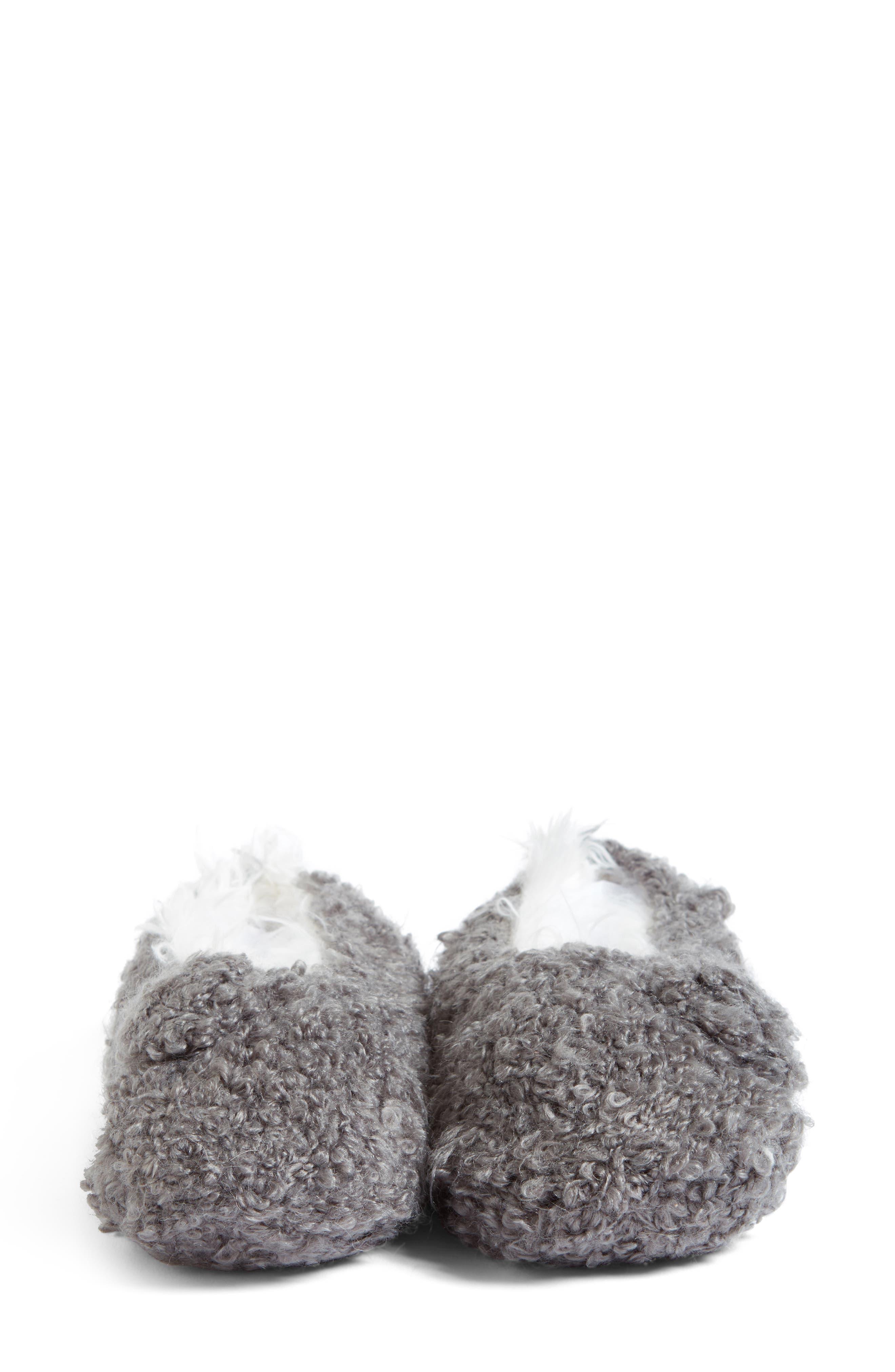 Teddy Bear Bootie Slipper Socks,                             Alternate thumbnail 5, color,                             020