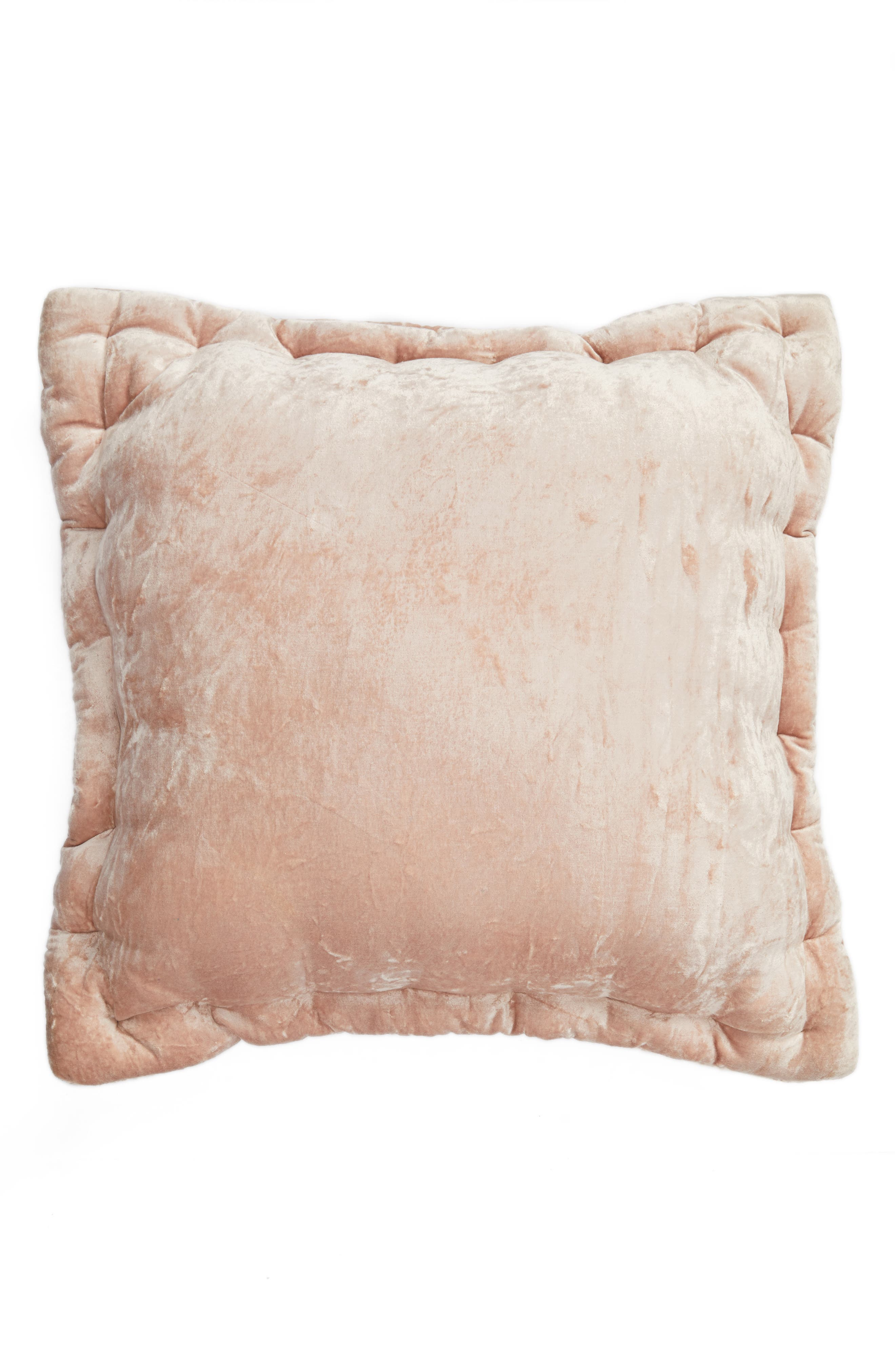 Velvet Accent Pillow,                             Main thumbnail 2, color,