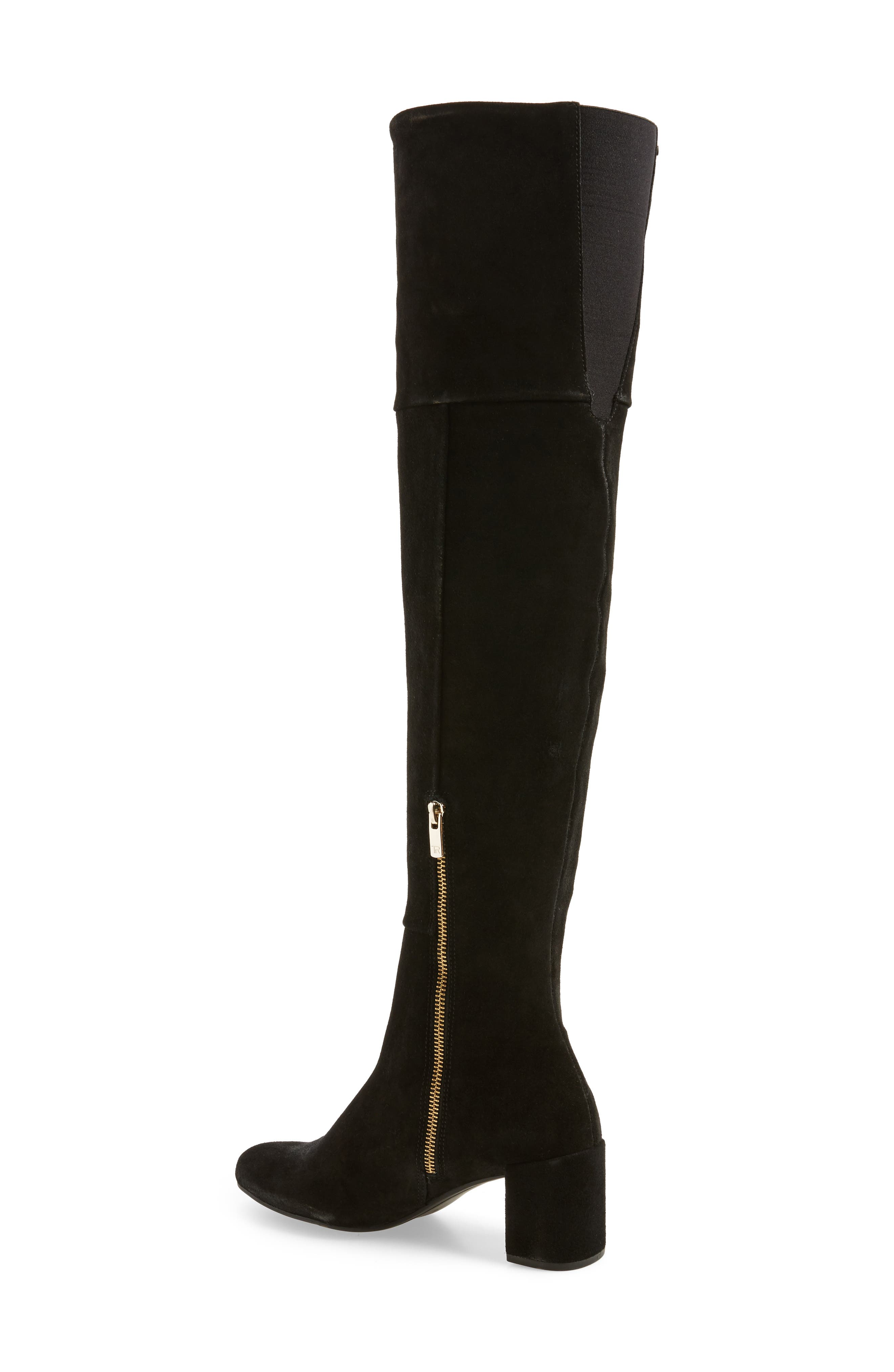Catherine Over the Knee Boot,                             Alternate thumbnail 2, color,                             004