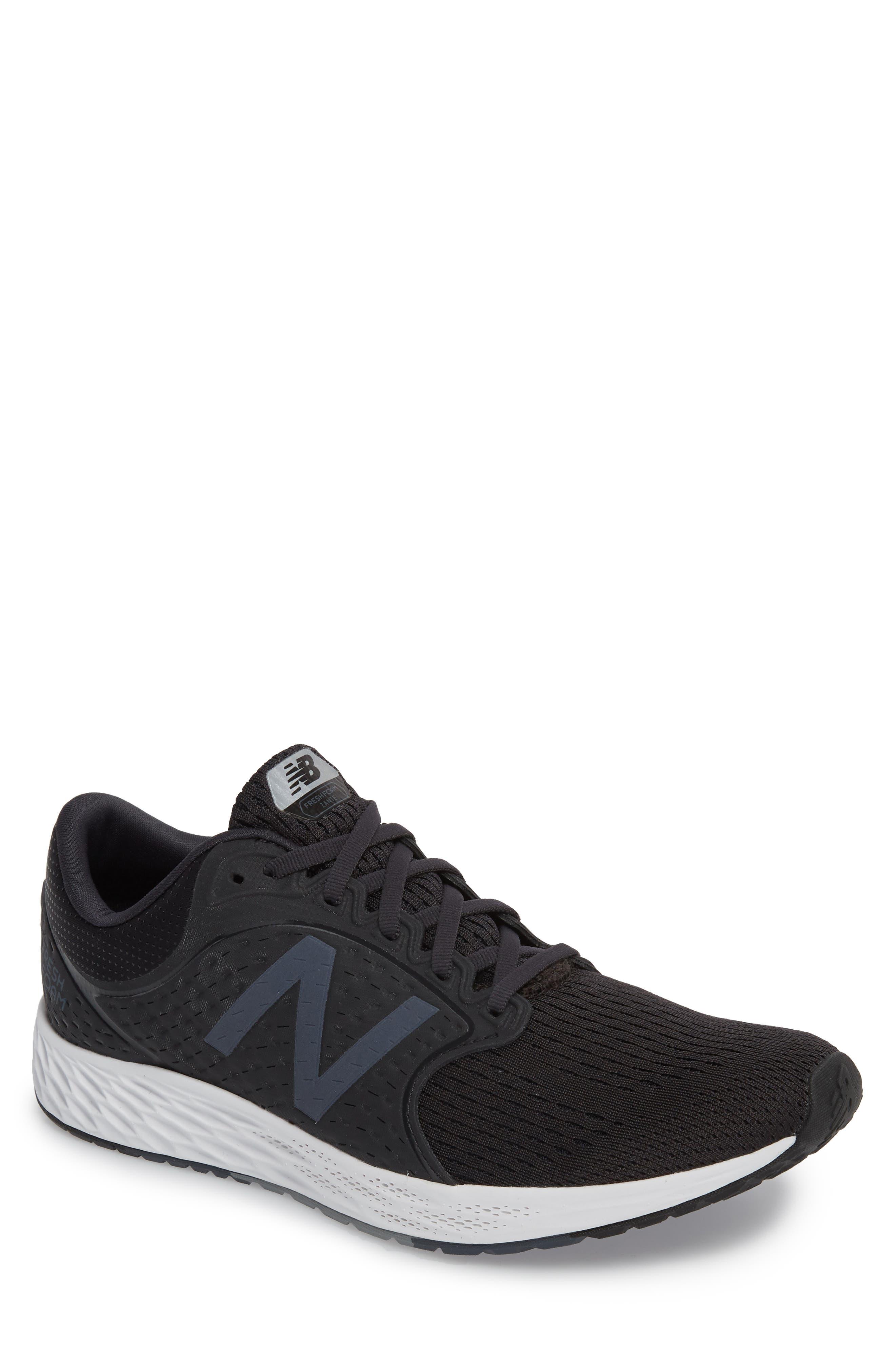 Fresh Foam Zante v4 Sneaker,                             Main thumbnail 1, color,                             BLACK