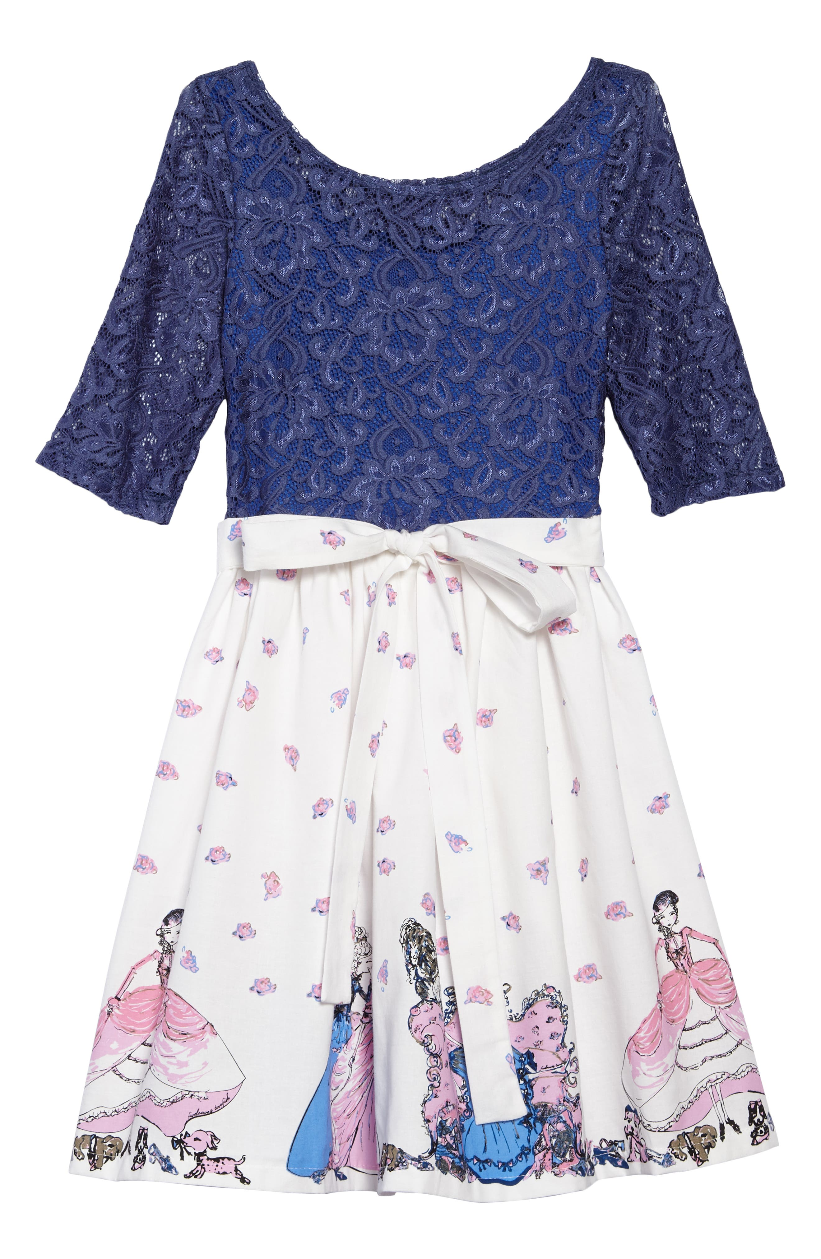 Abbie Girl & Her Shoes Dress,                             Alternate thumbnail 2, color,                             400