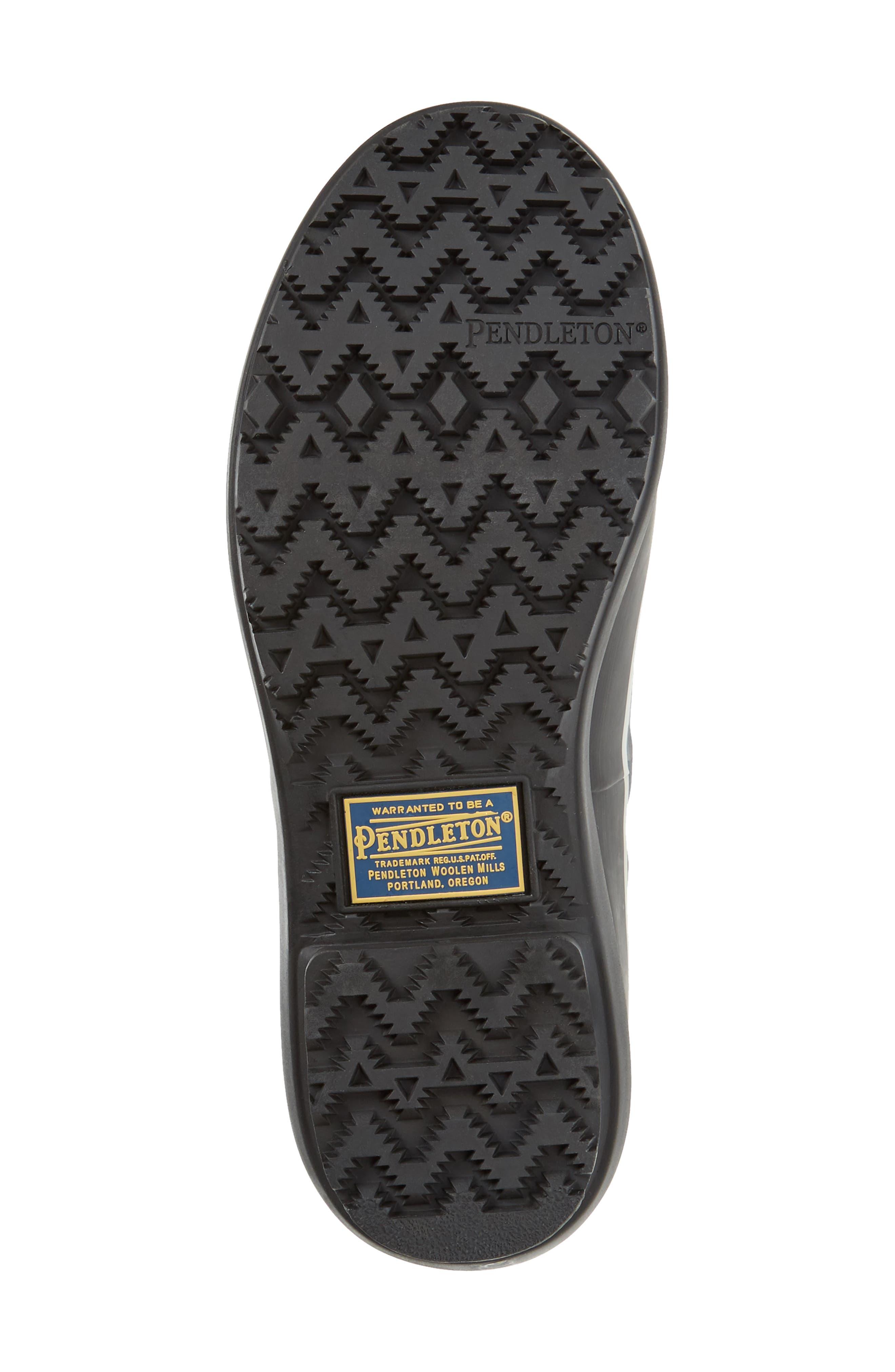 Pendleton Papago Park Tall Rain Boot,                             Alternate thumbnail 6, color,                             BLACK